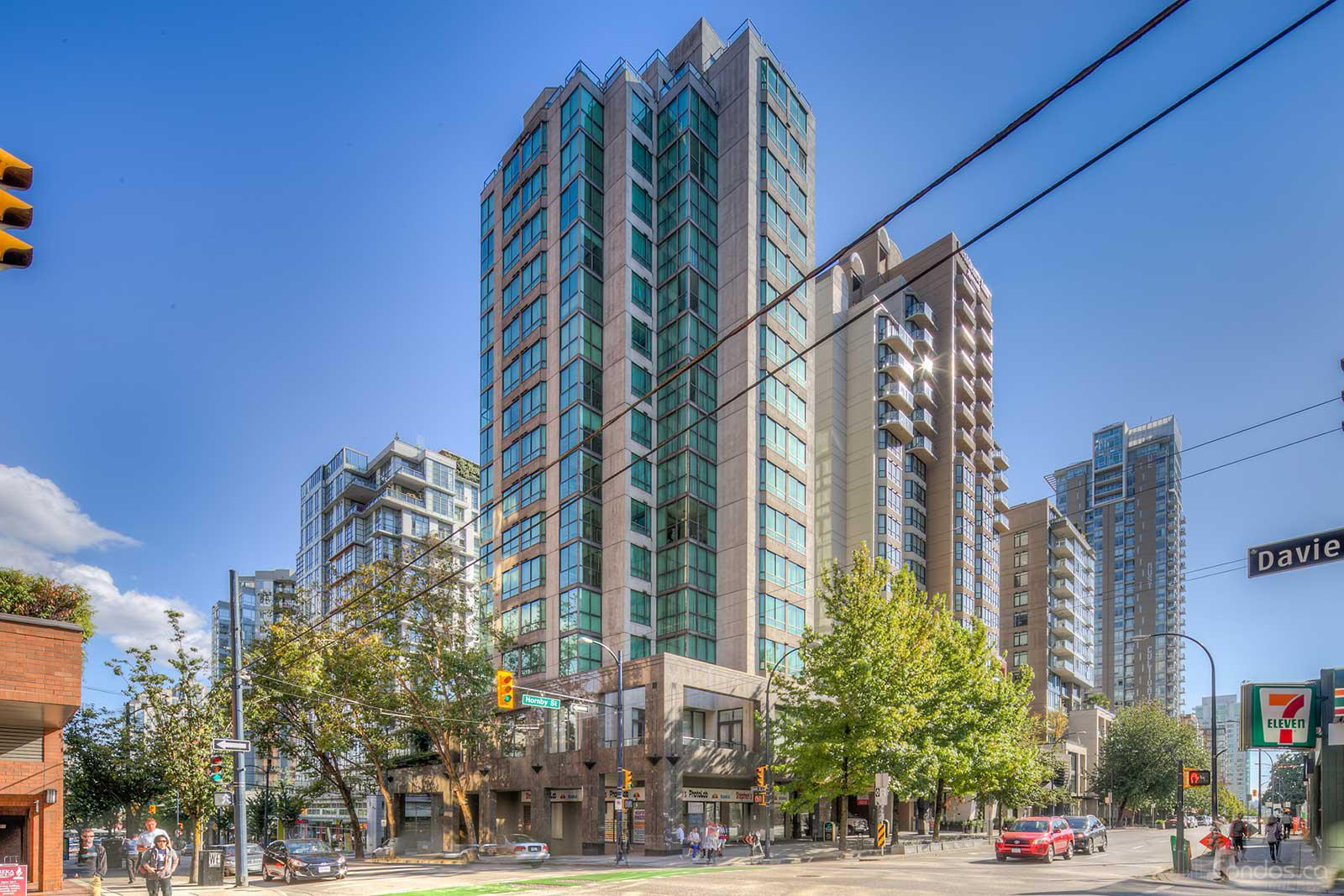 The Landis Hotel & Suites at 1200 Hornby St, Vancouver 1