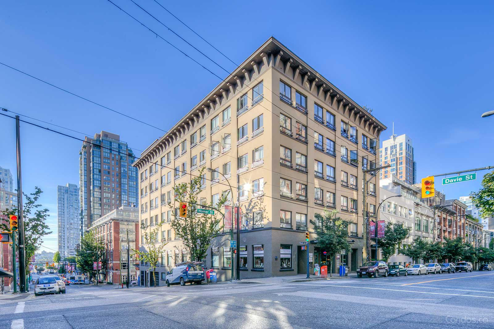 Murchies Building at 1216 Homer St, Vancouver 0