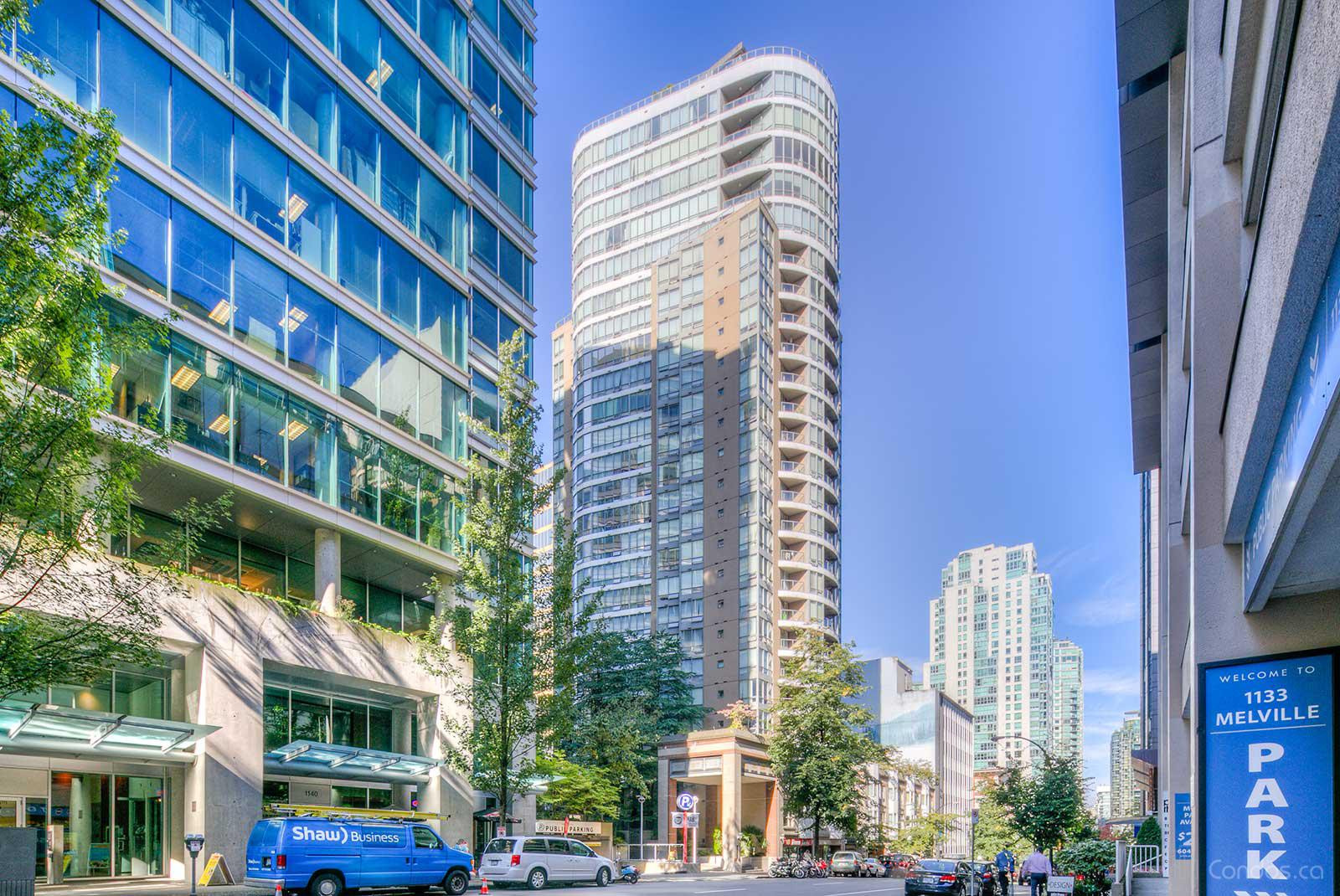 Orca Place at 1166 Melville St, Vancouver 0