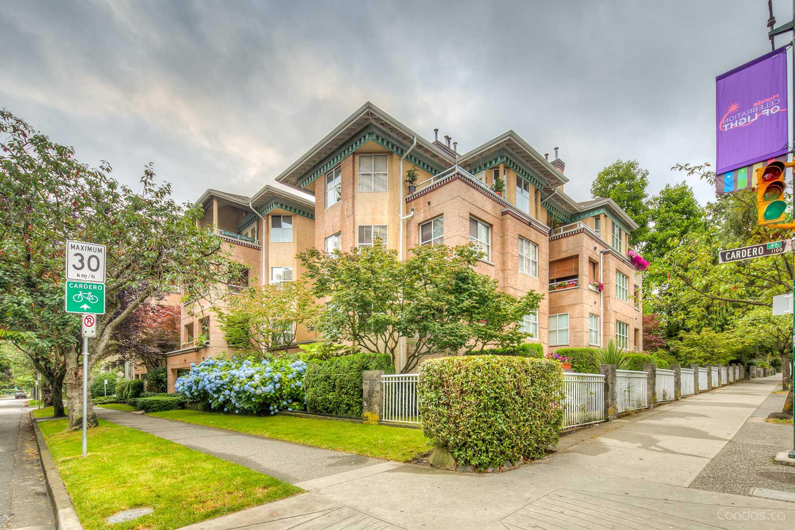 The Hampstead at 1188 Cardero St, Vancouver 1