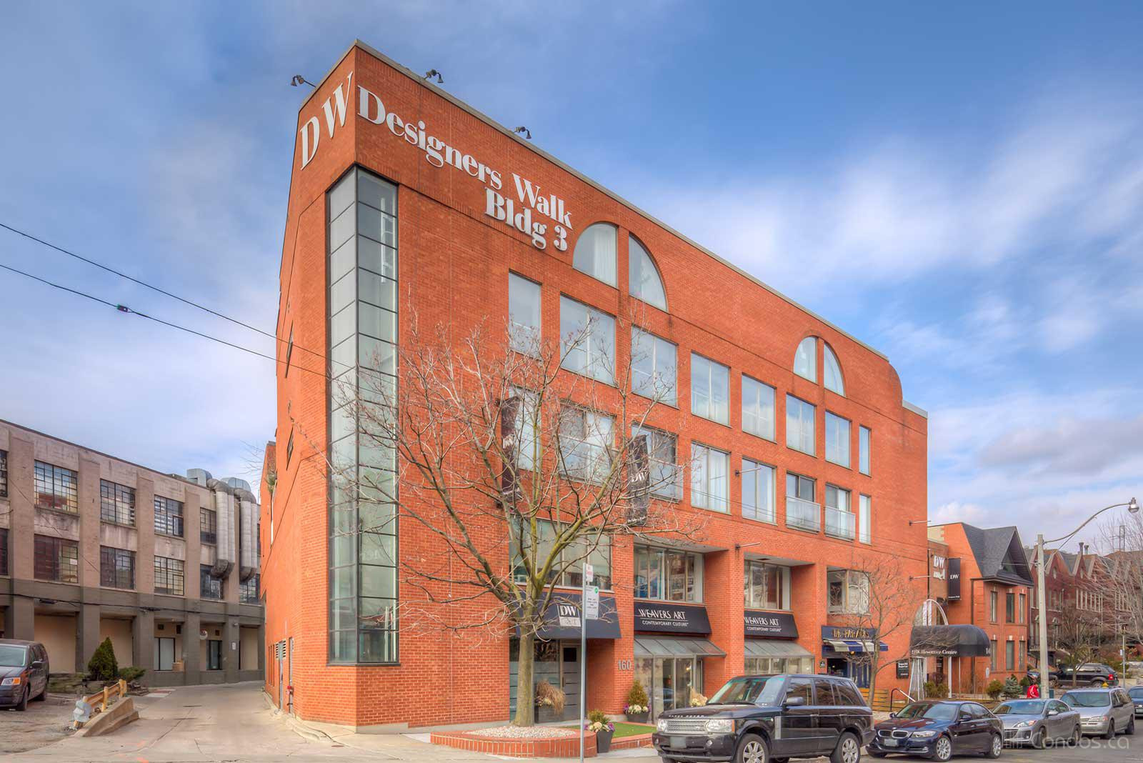 DW Lofts at 160 Bedford Rd, Toronto 1