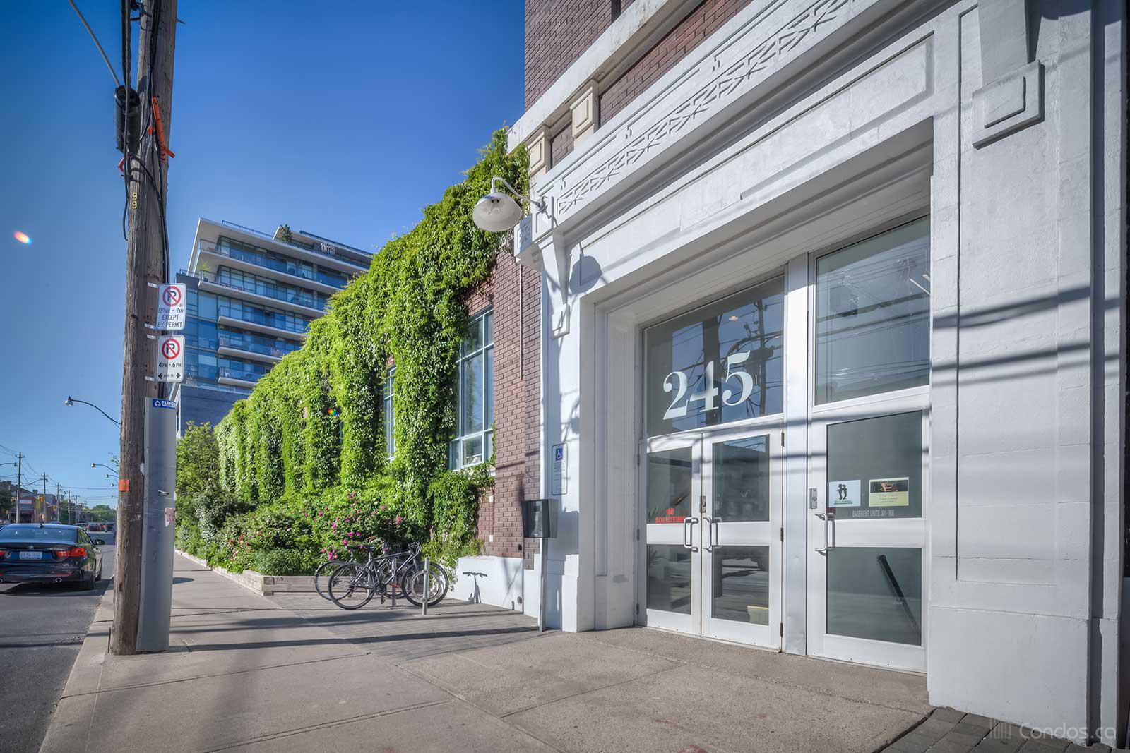 Wrigley Lofts at 245 Carlaw Ave, Toronto 1