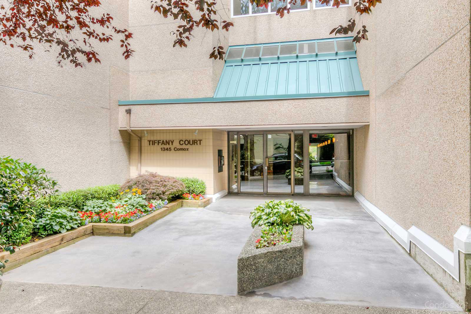 Tiffany Court at 1345 Comox St, Vancouver 0