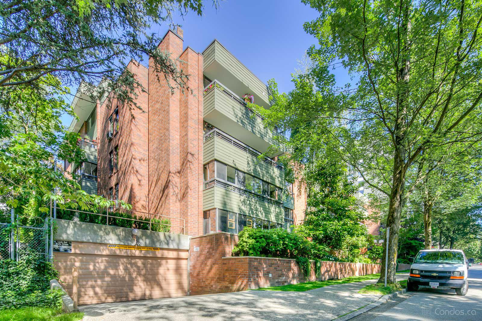 Vanier Court at 1355 Harwood St, Vancouver 1