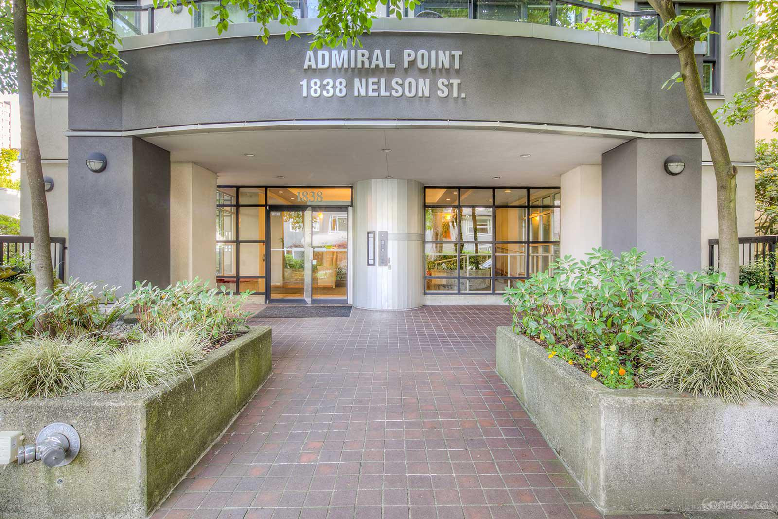 Admiral Point at 1838 Nelson St, Vancouver 1