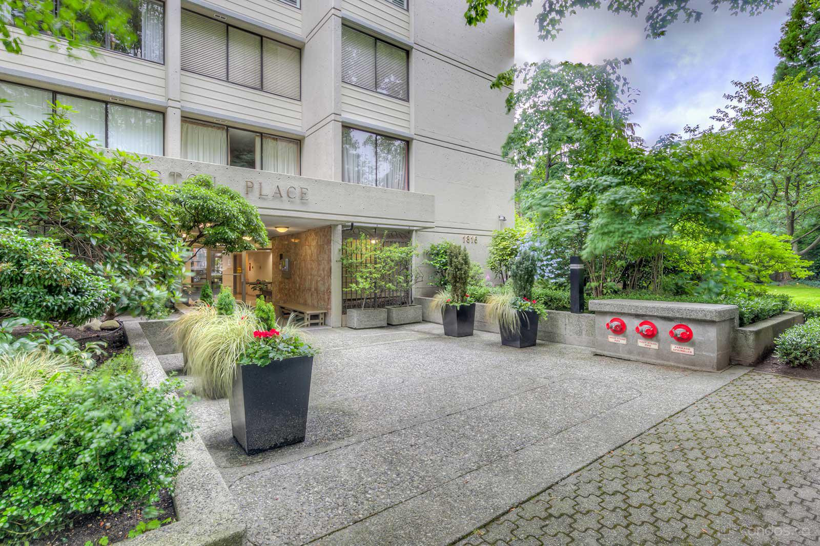 Huntington Place at 1816 Haro St, Vancouver 0