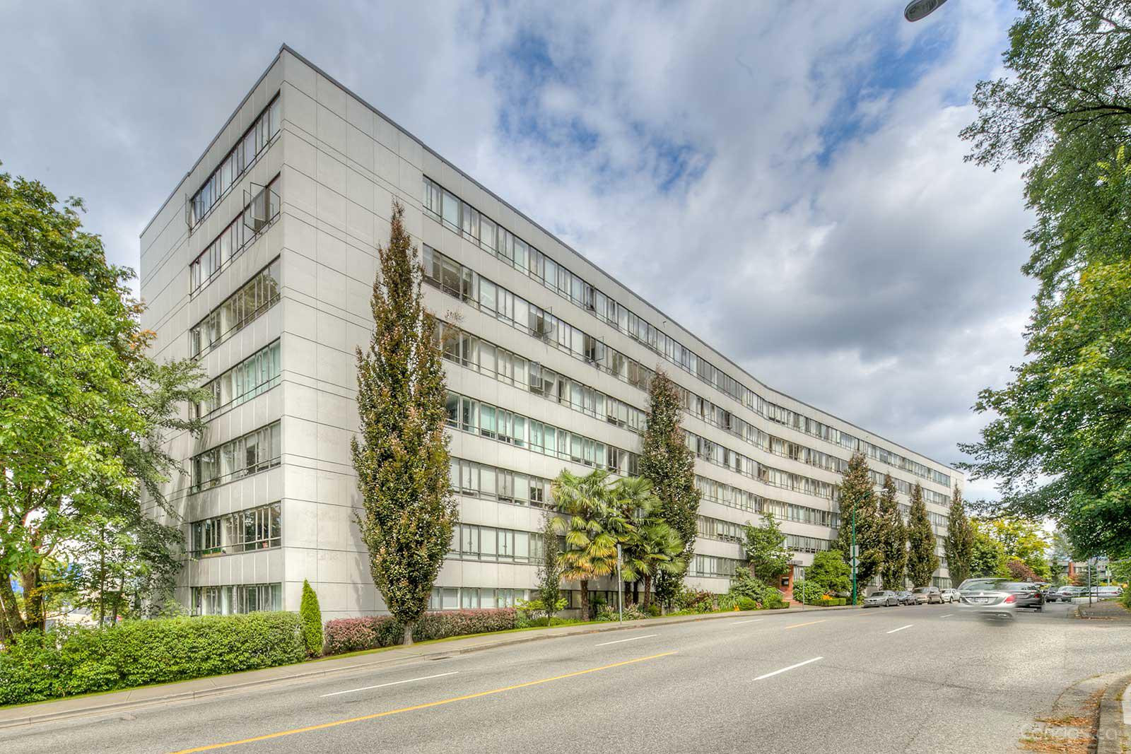Hycroft Towers at 1445 Marpole Ave, Vancouver 0