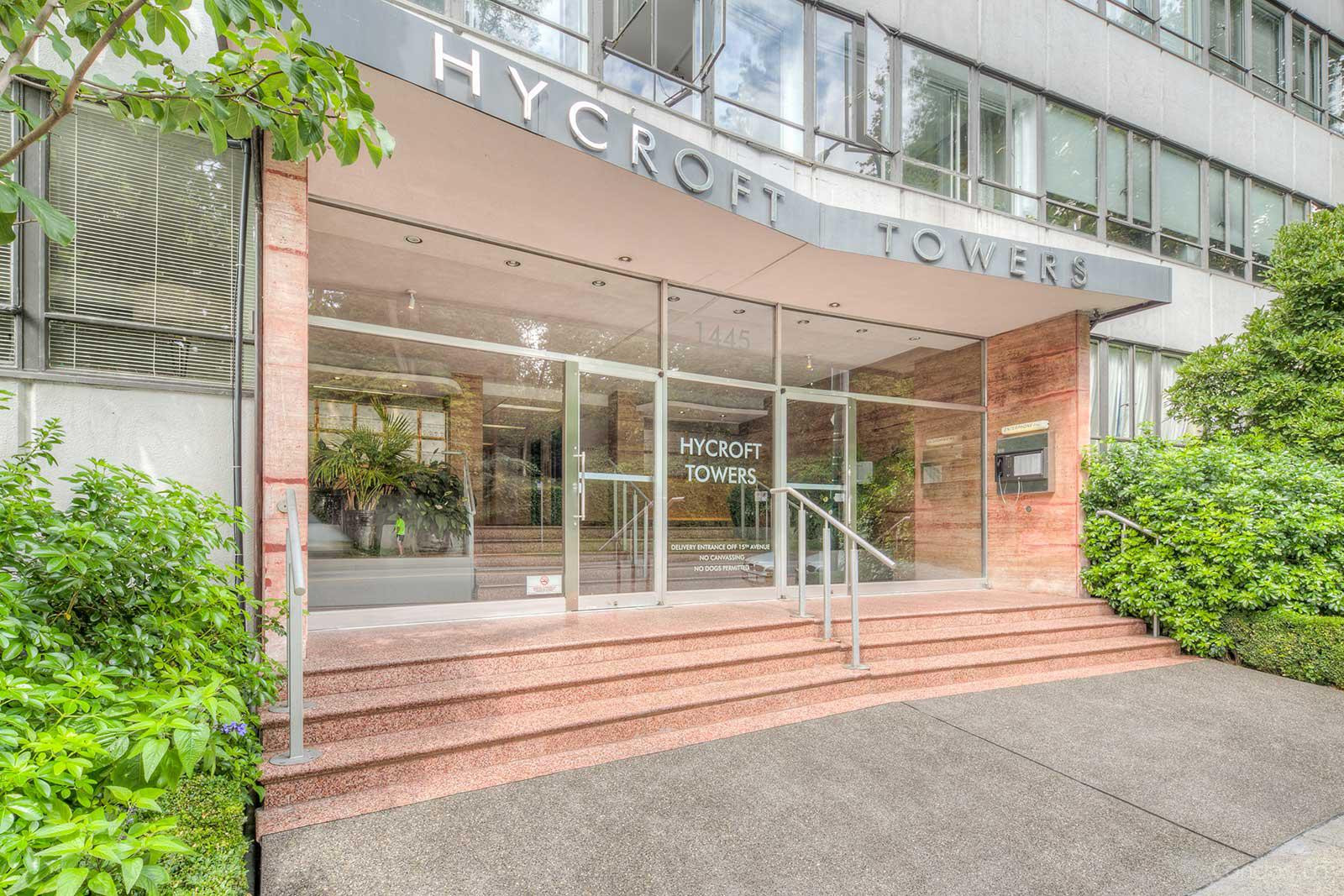 Hycroft Towers at 1445 Marpole Ave, Vancouver 1