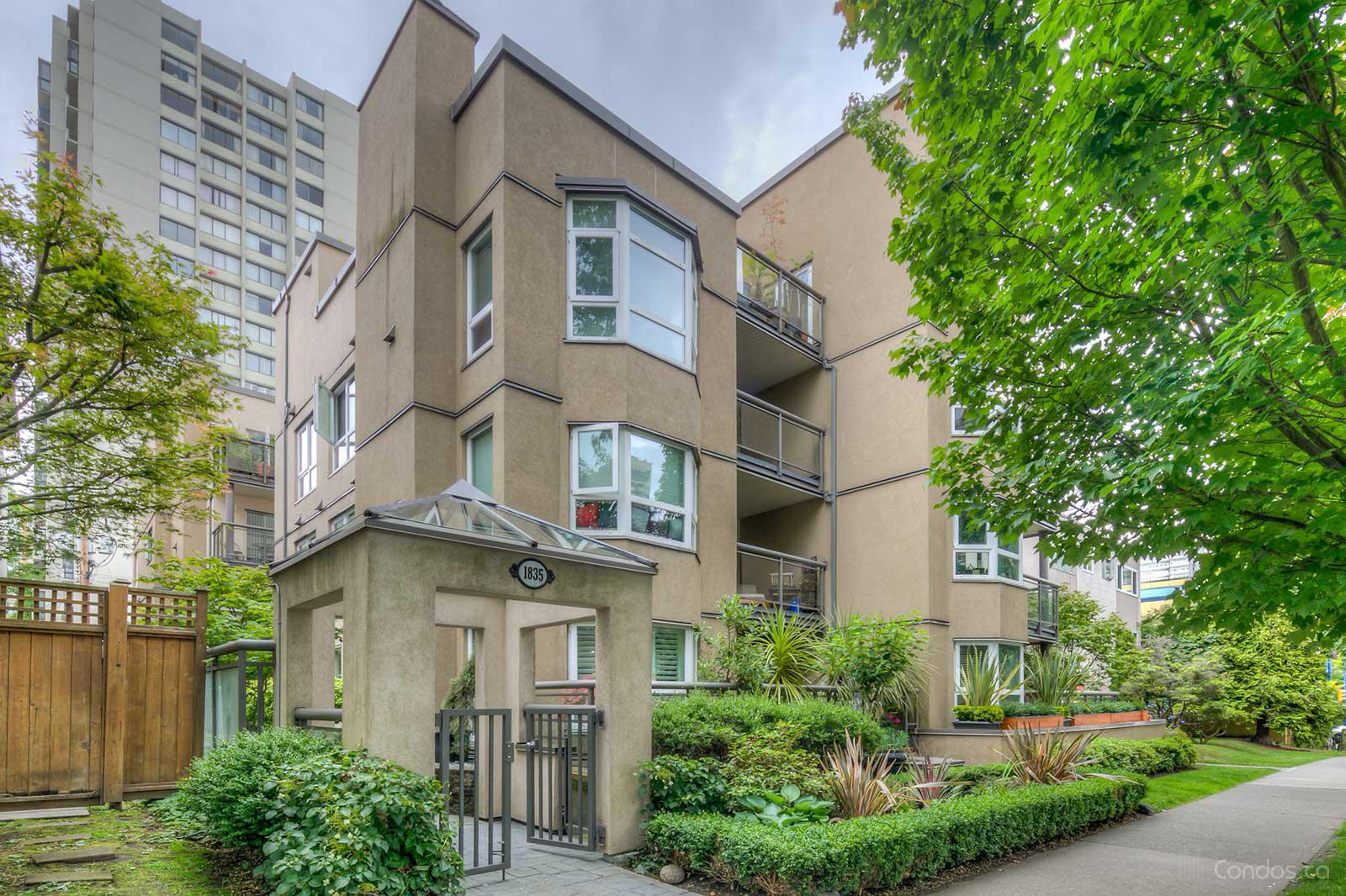 Parkside Place at 1835 Barclay St, Vancouver 0