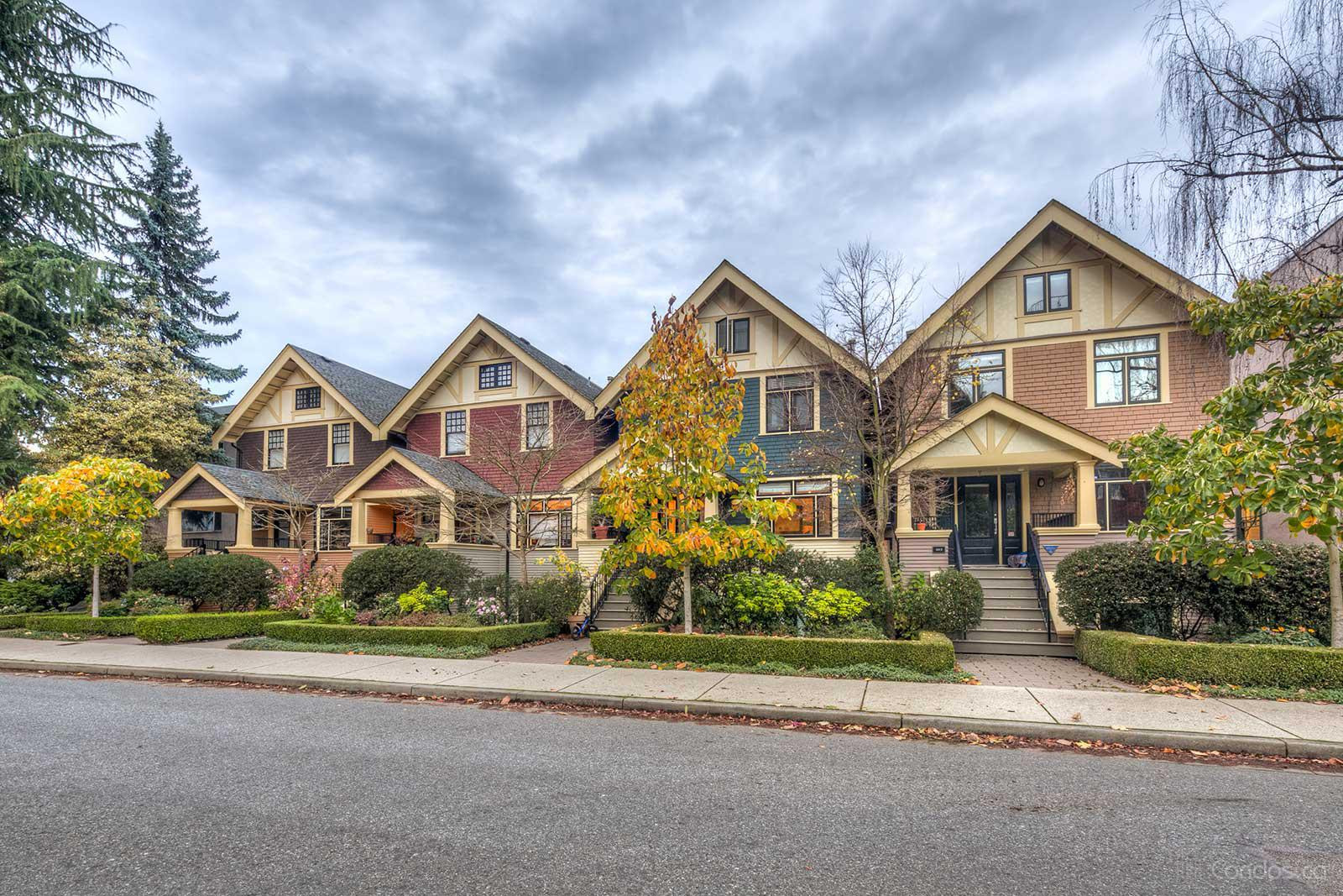 South Granville Townhomes at 1425 W 11th Ave, Vancouver 0