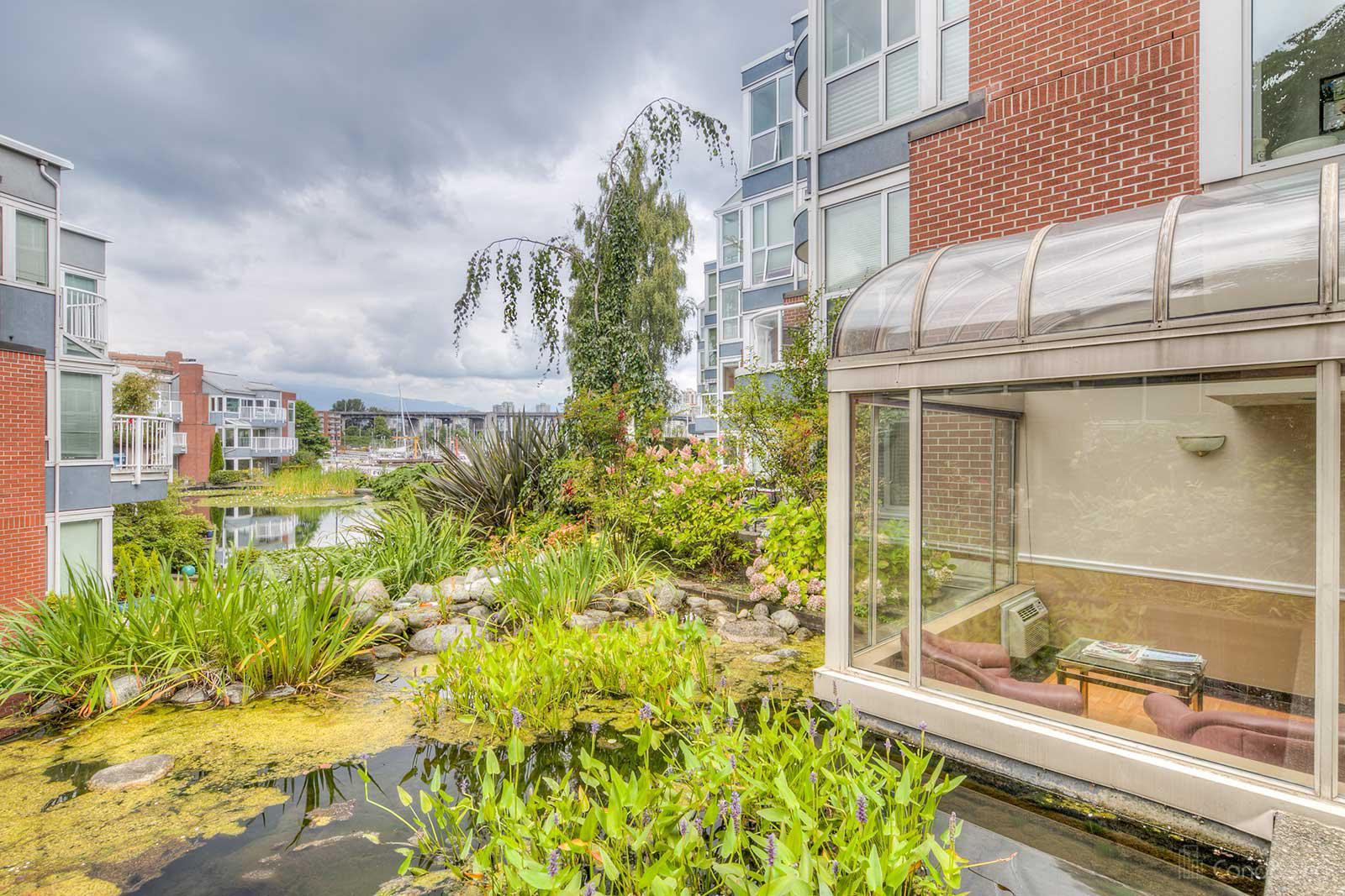 The Lagoons at 1502 Island Park Walk, Vancouver 0