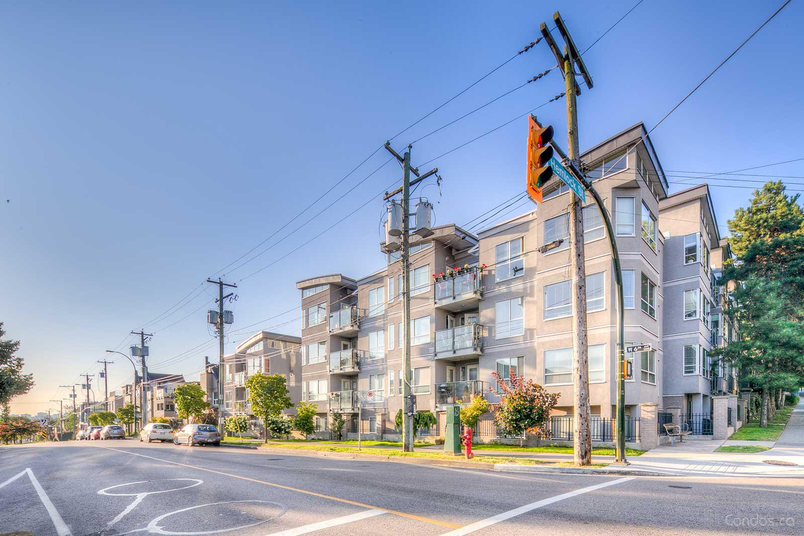 The Nottingham at 1386 W 6th Ave, Vancouver 1