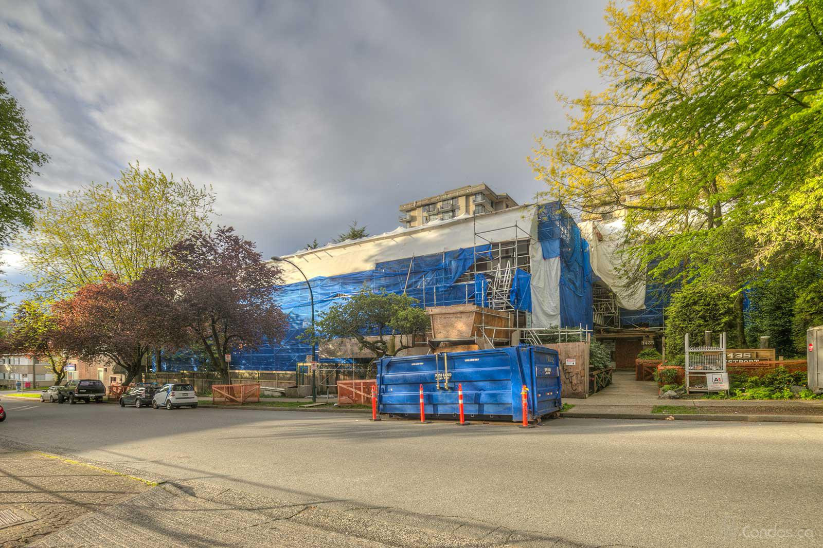 Westport at 1435 Nelson St, Vancouver 1