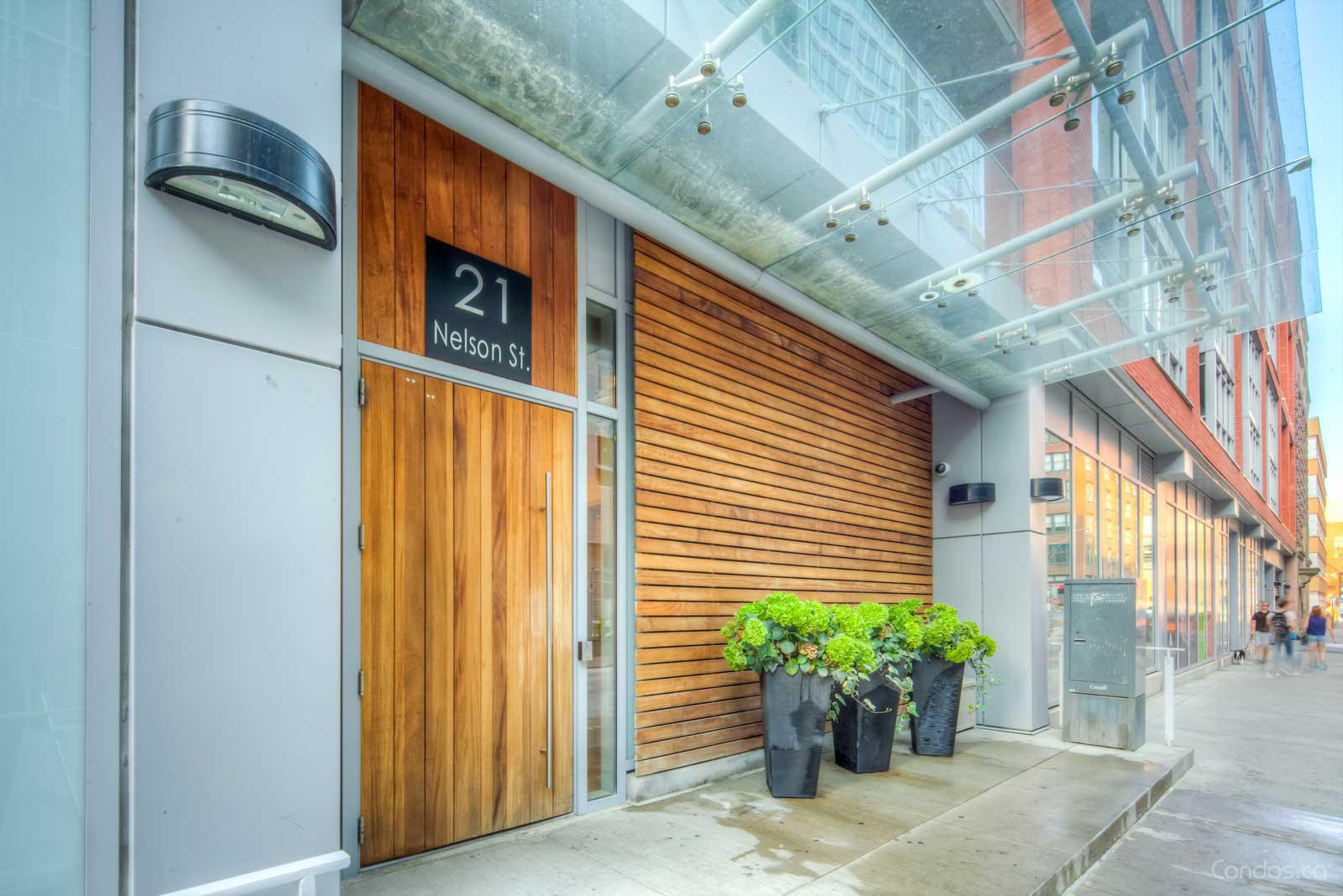 Boutique Condos at 21 Nelson St, Toronto 1