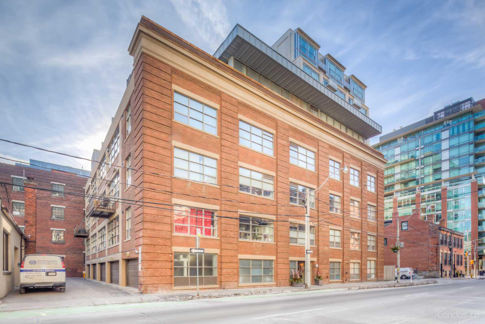 Liberty Lofts at 383 Adelaide St E, Toronto 1