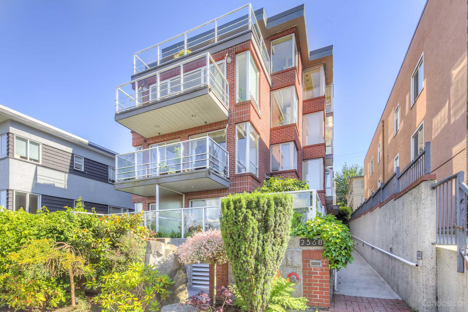 The Beachview Terrace at 2368 Cornwall Ave, Vancouver 0