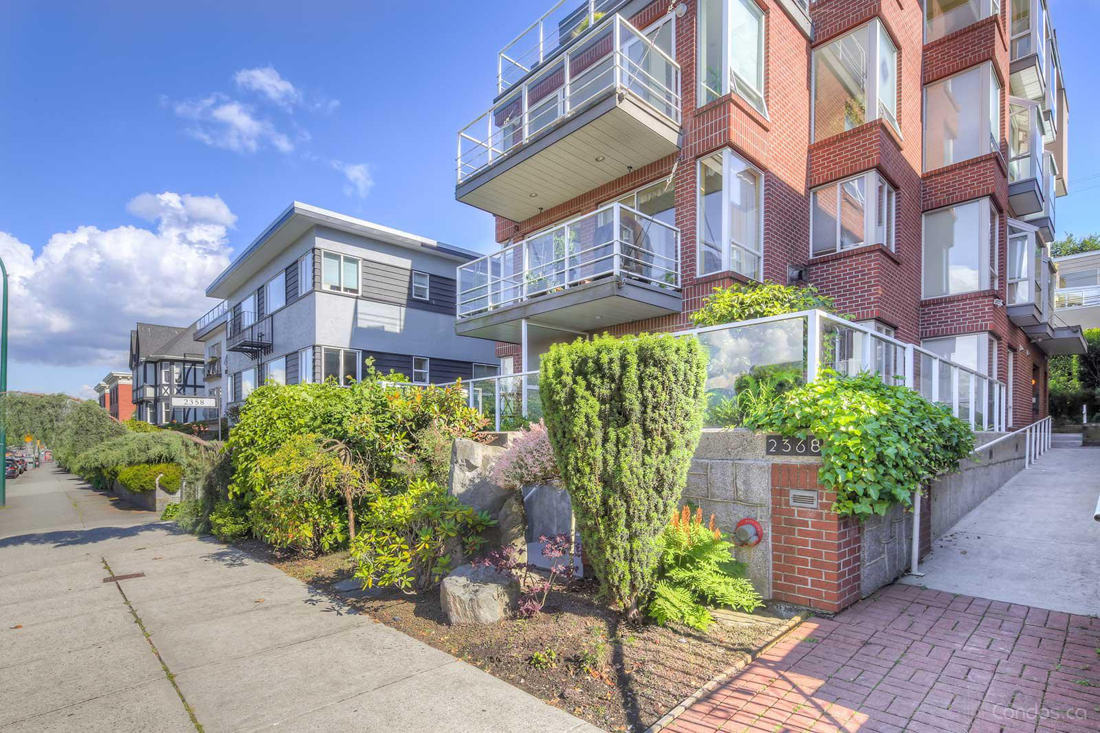 The Beachview Terrace at 2368 Cornwall Ave, Vancouver 1