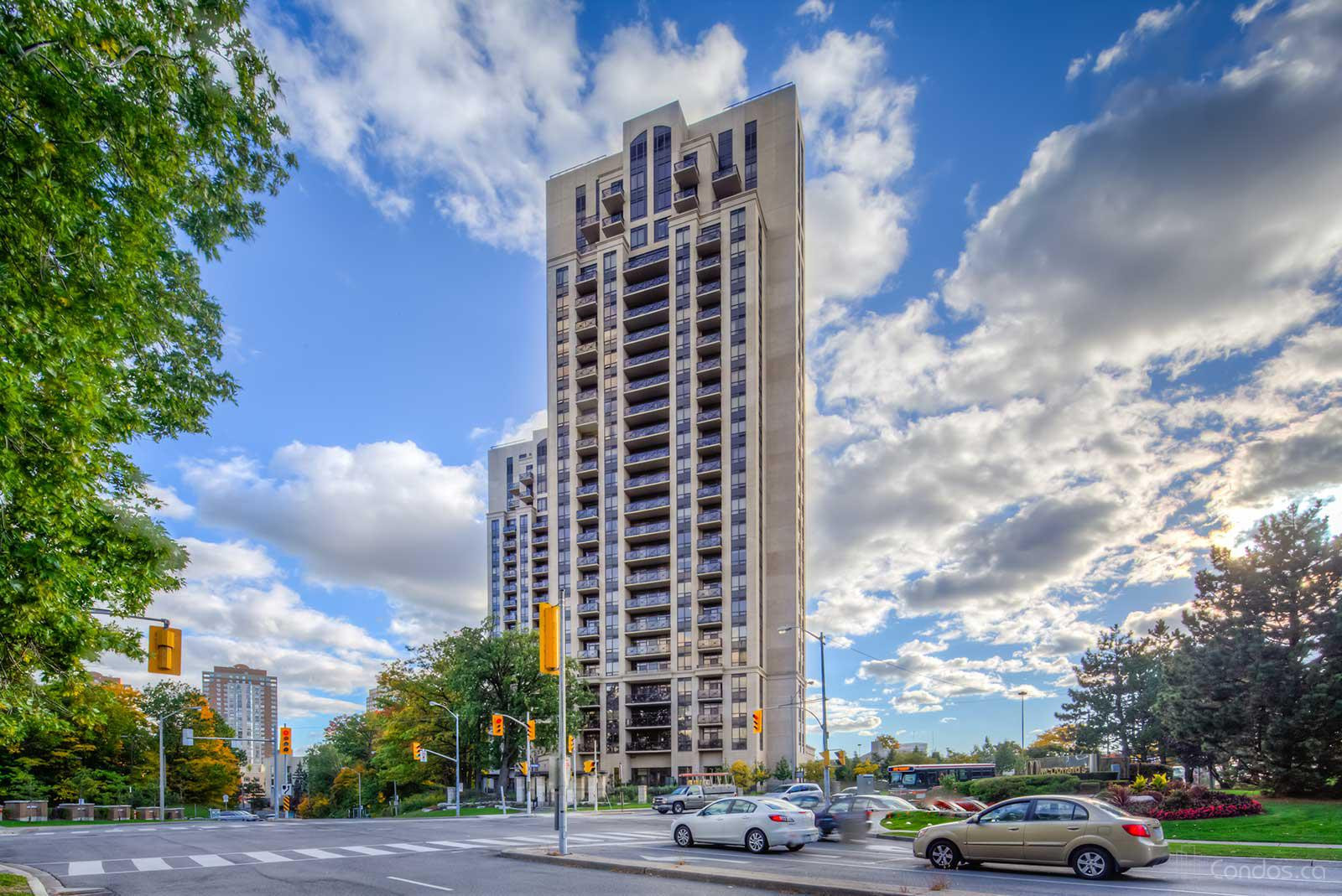 The Rosewood at 133 Wynford Dr, Toronto 1