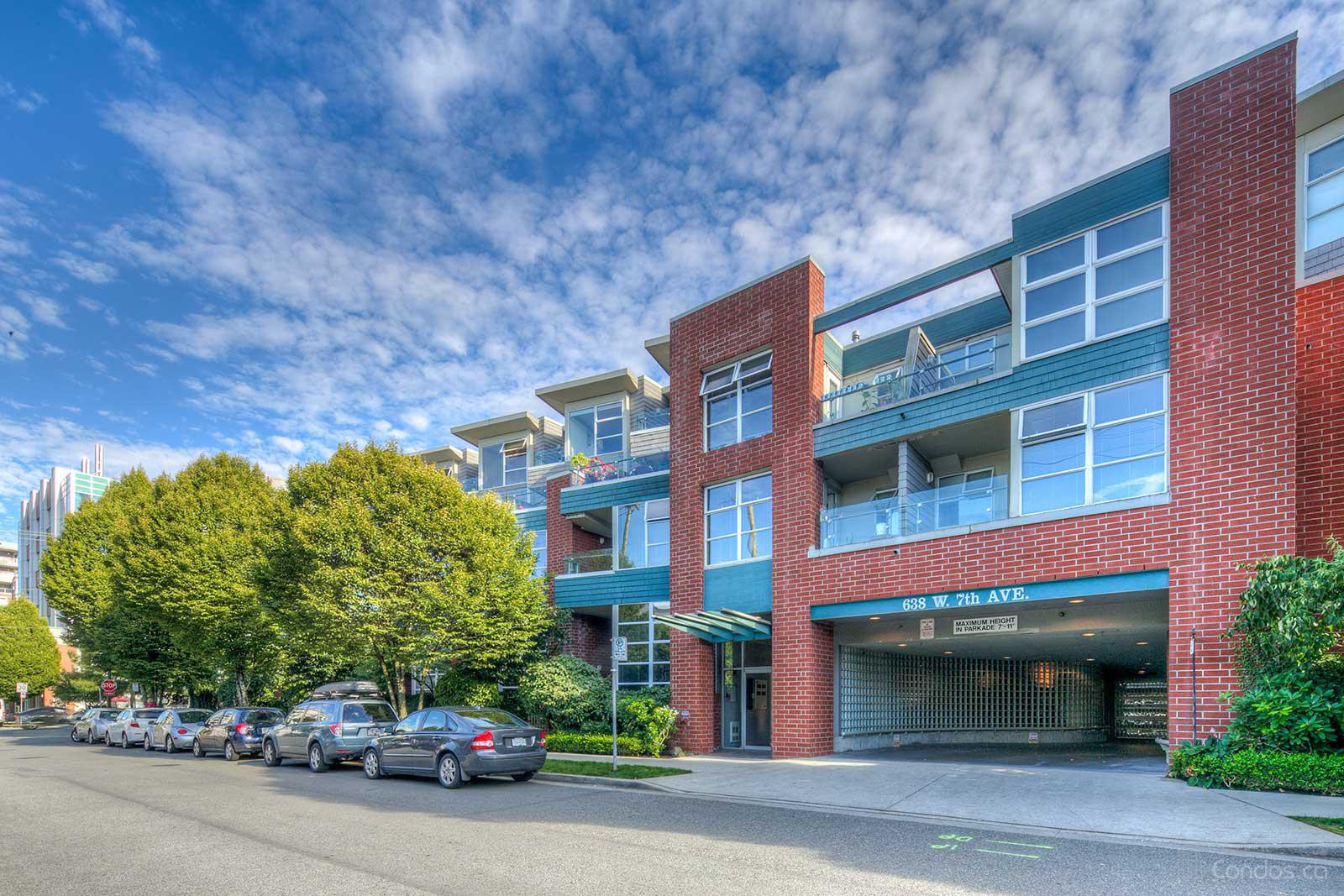 Omega City Homes at 638 W 7th Ave, Vancouver 0