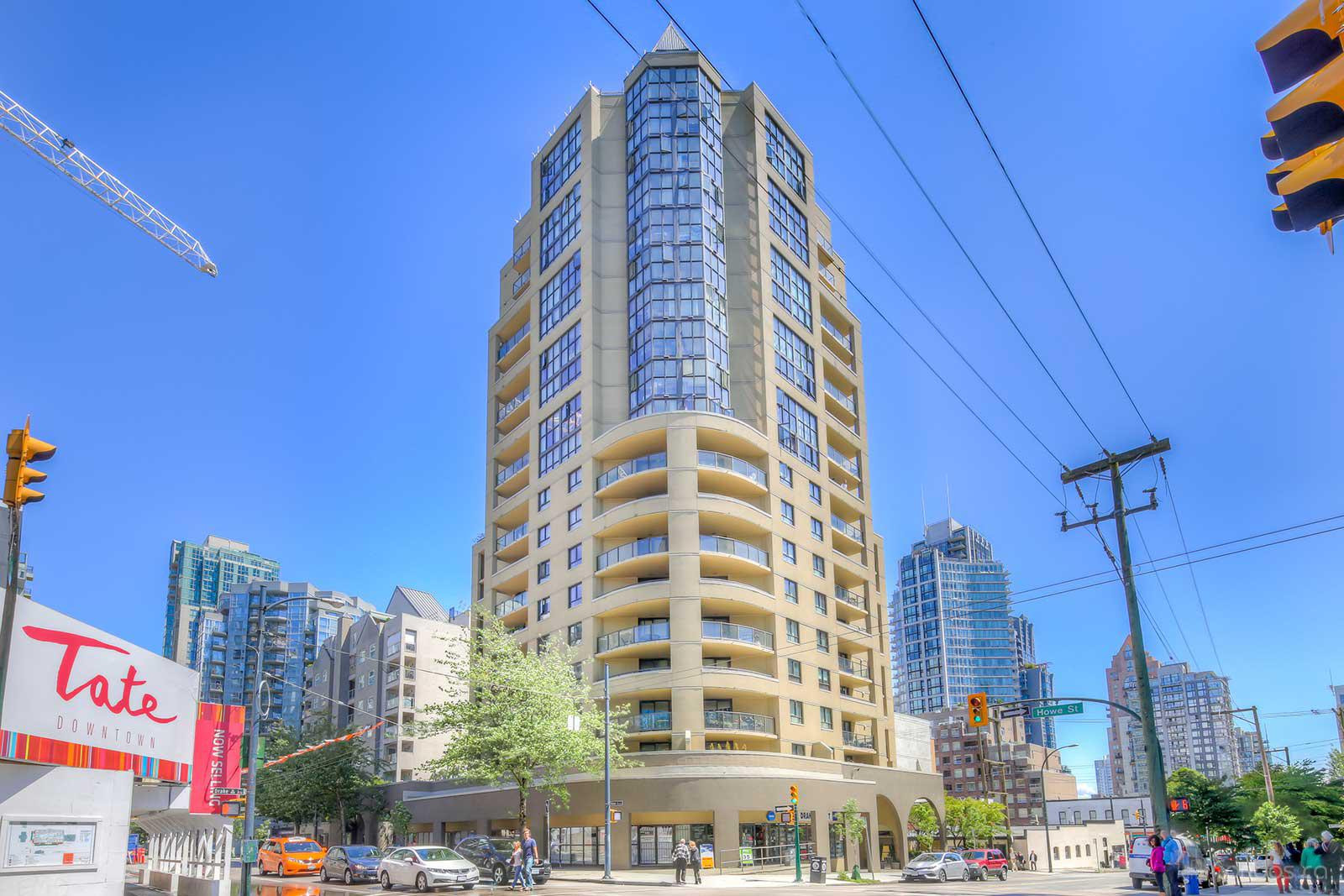 Century Tower at 789 Drake St, Vancouver 1