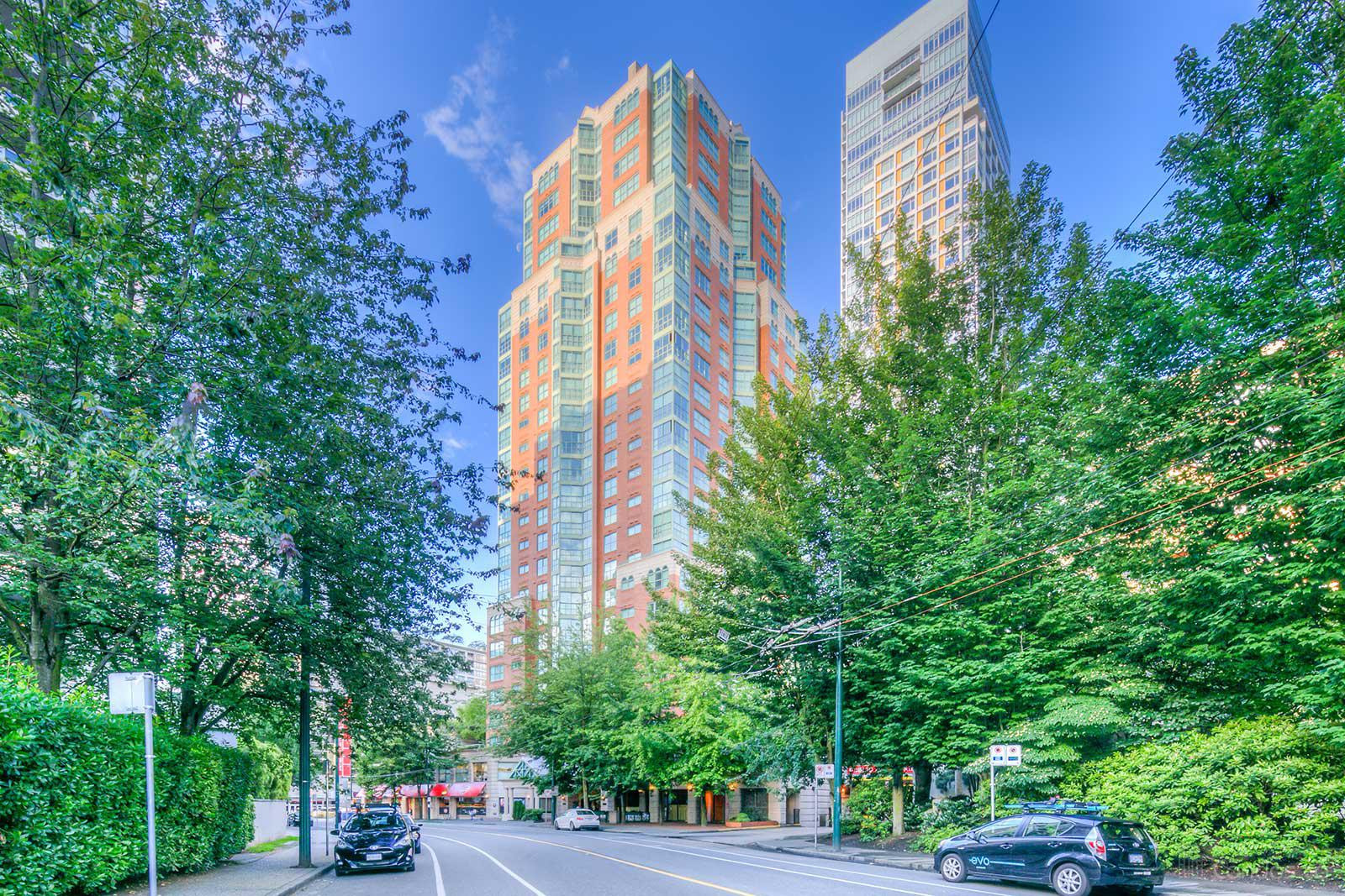 Vancouver Tower at 909 Burrard St, Vancouver 1