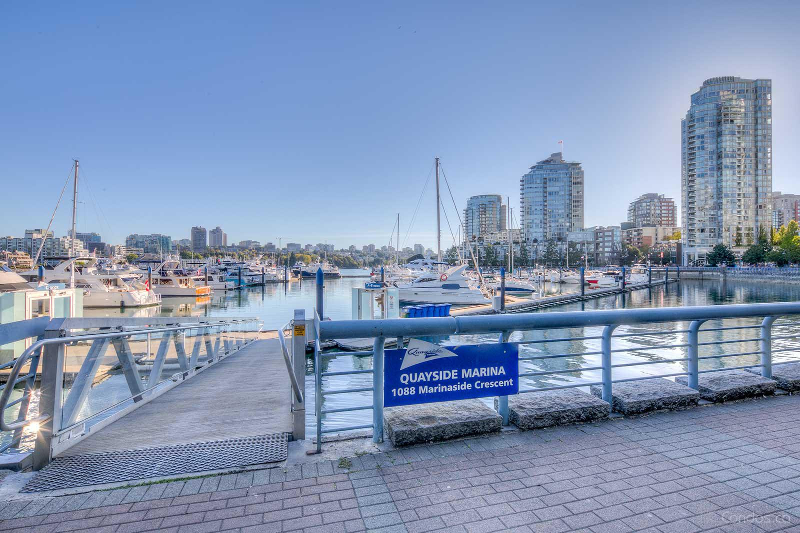 Quayside Marina at 1088 Marinaside Crescent, Vancouver 0