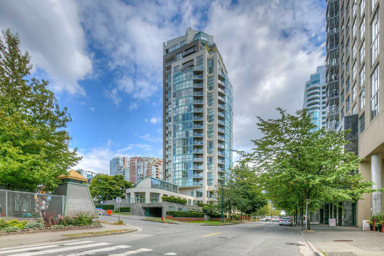Coral Court at 907 Beach Ave, Vancouver 0