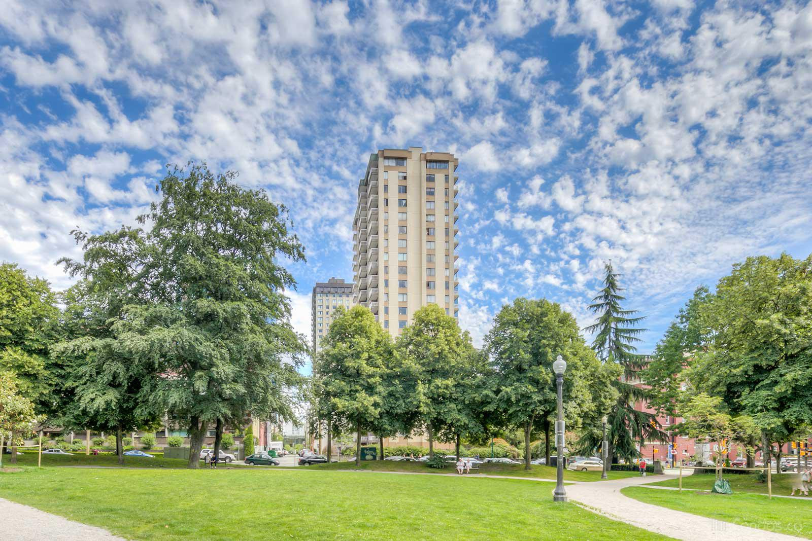 The Heritage at 1075 Comox St, Vancouver 1
