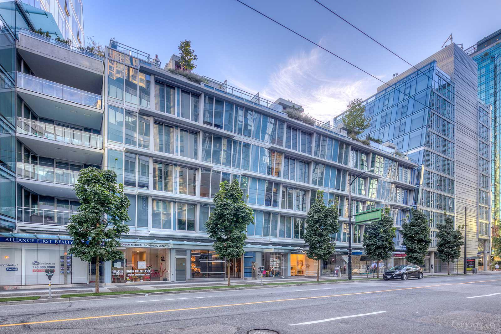 West Pender Place at 1477 W Pender St, Vancouver 1