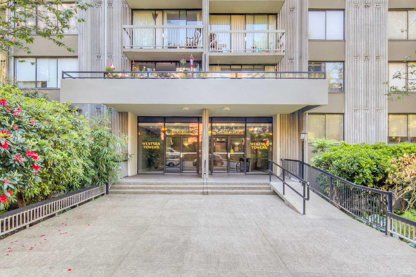 Westsea Towers at 1330 Harwood St, Vancouver 1
