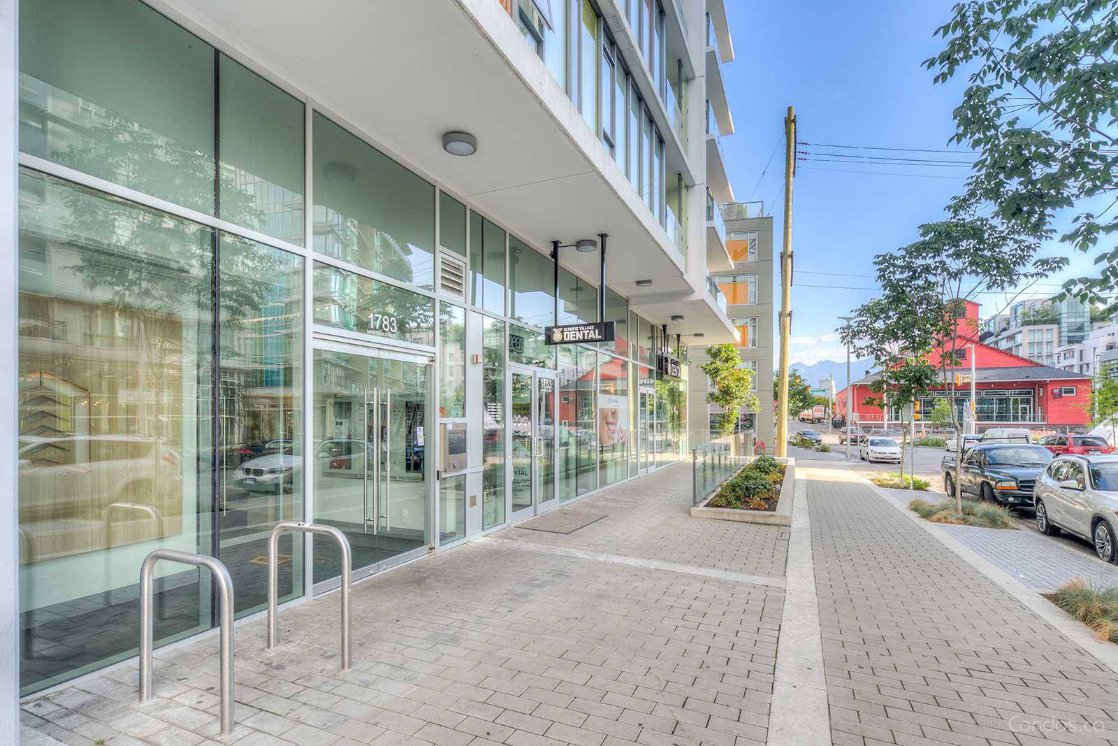 The Residences at WEST at 1783 Manitoba St, Vancouver 1