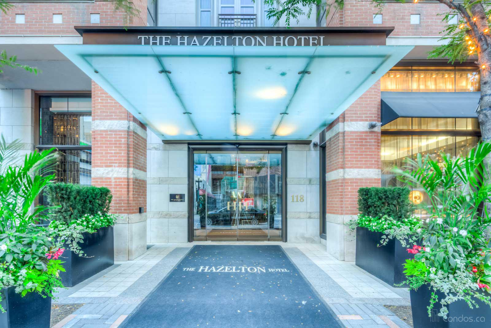 The Hazelton at 118 Yorkville Ave, Toronto 1
