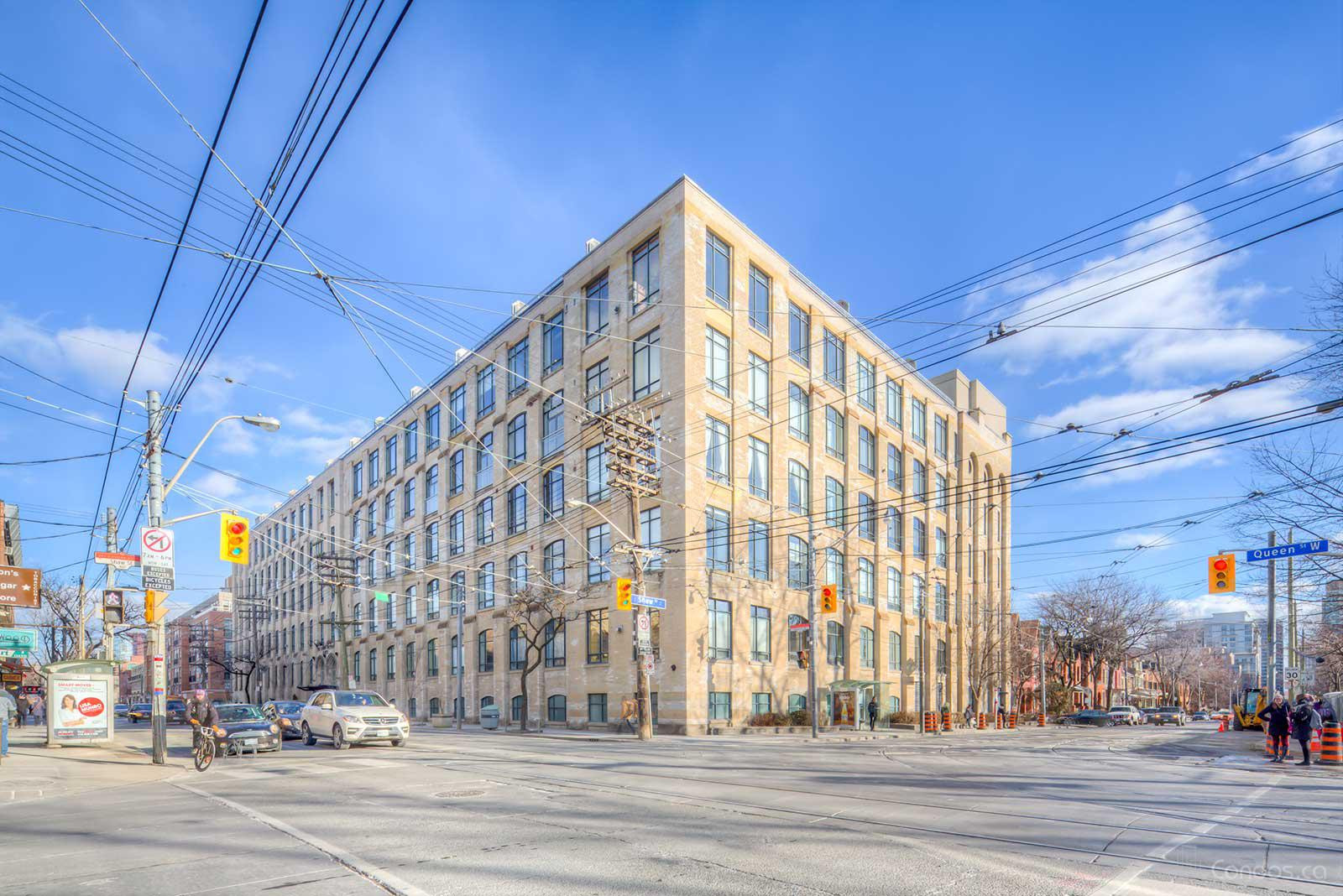 The Candy Factory Lofts at 993 Queen St W, Toronto 0