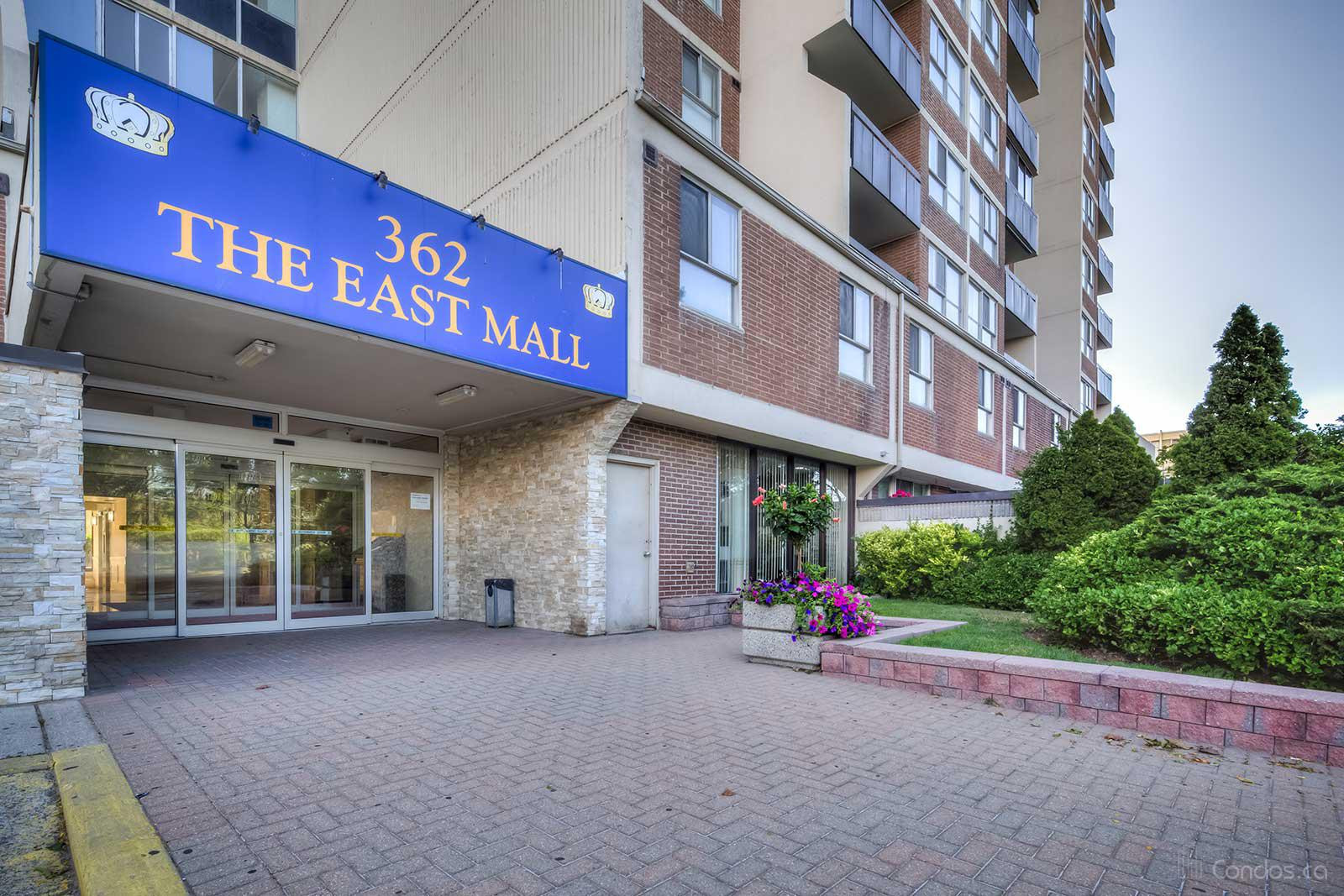 Queenscourt at 362 The East Mall, Toronto 1