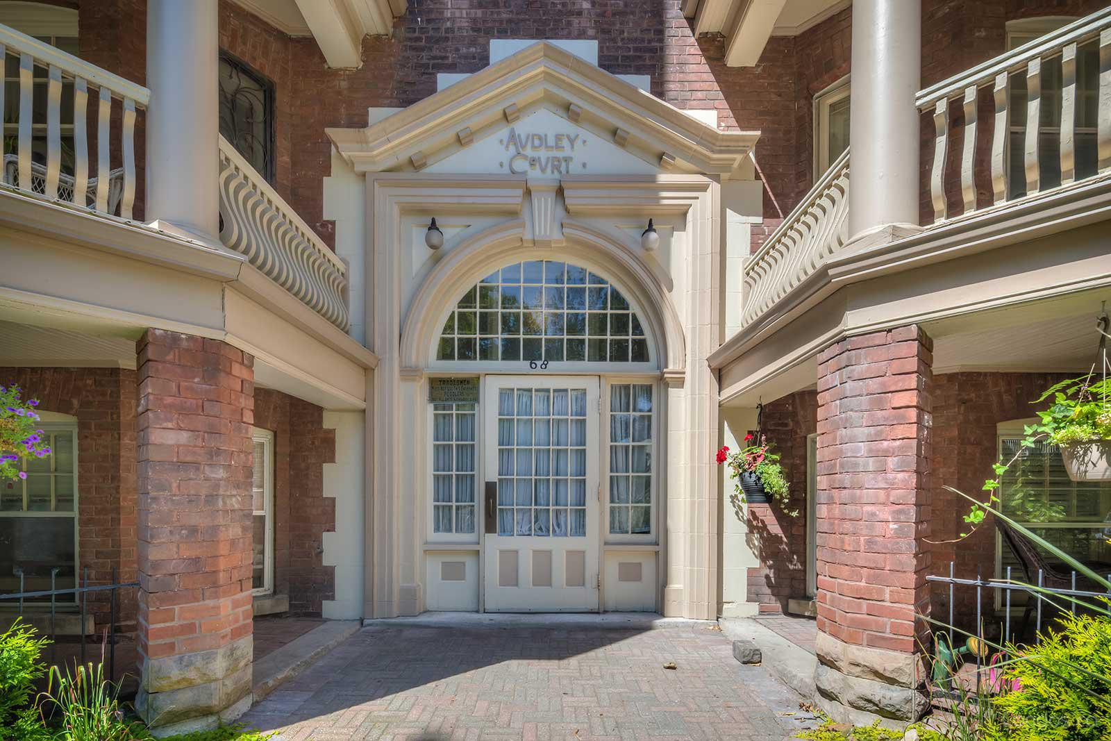 Audley Court at 68 Kendal Ave, Toronto 1