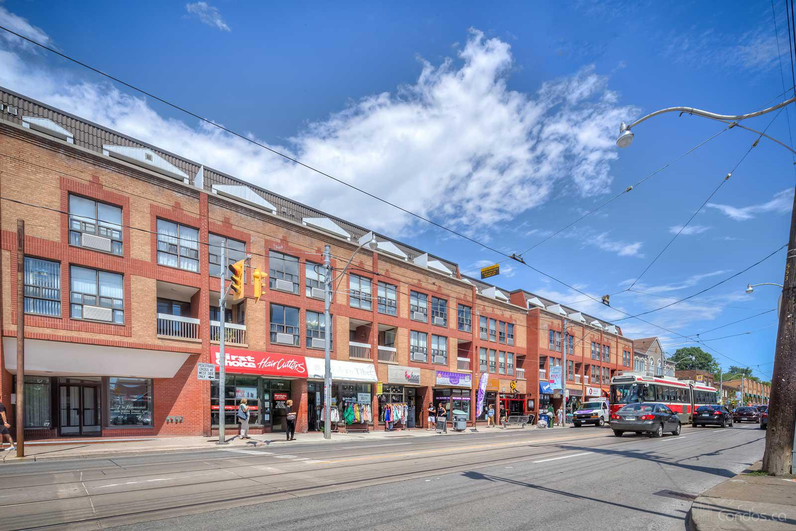 The Hammersmith at 2112 Queen St E, Toronto 1