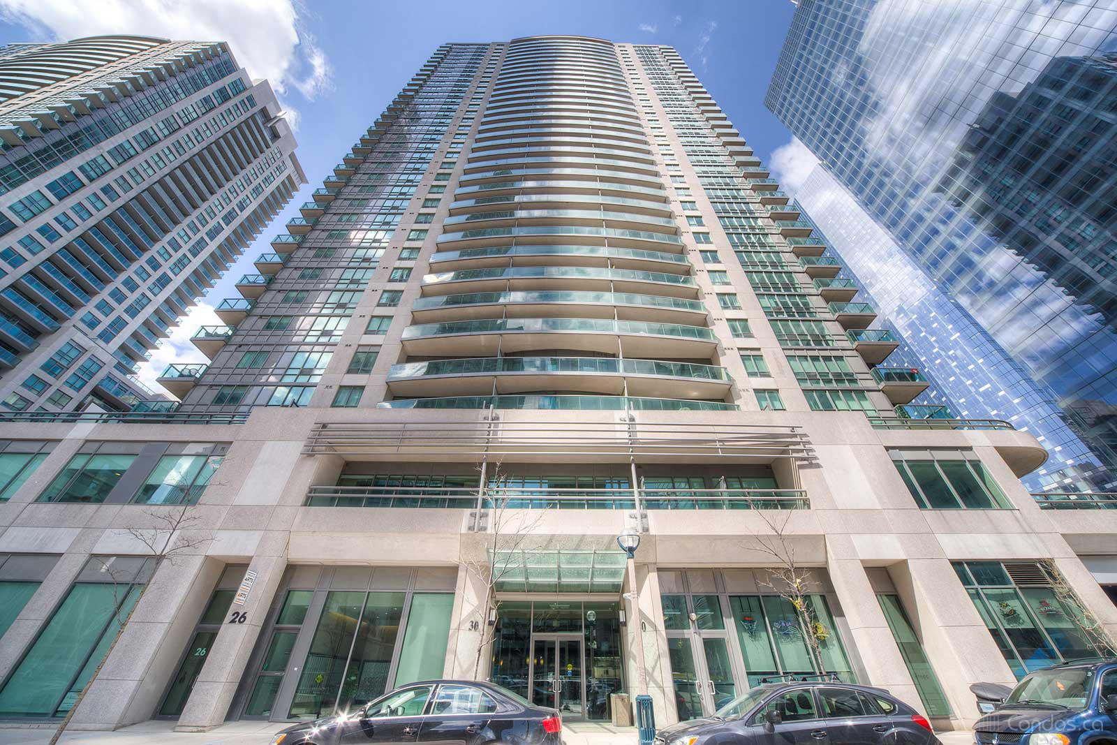 Infinity Ⅰ at 30 Grand Trunk Cres, Toronto 0