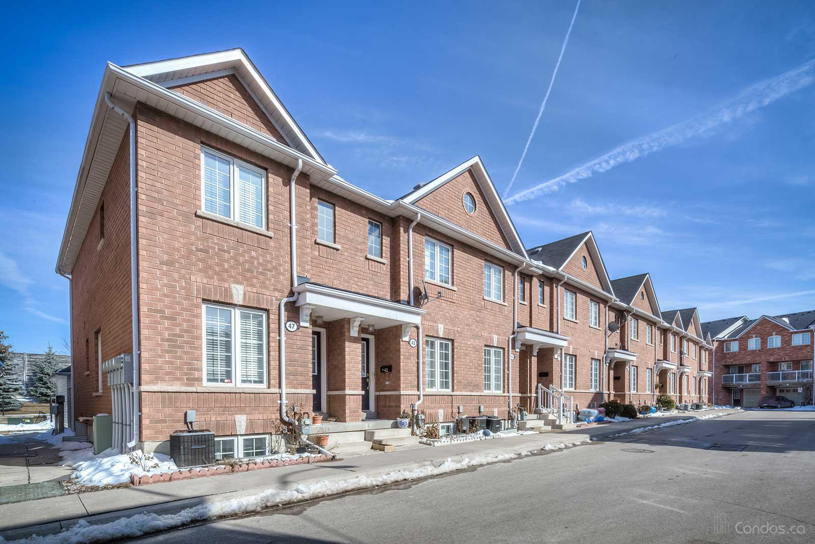Townhomes of St. Clair Ⅱ at 47 Brickworks Lane, Toronto 0