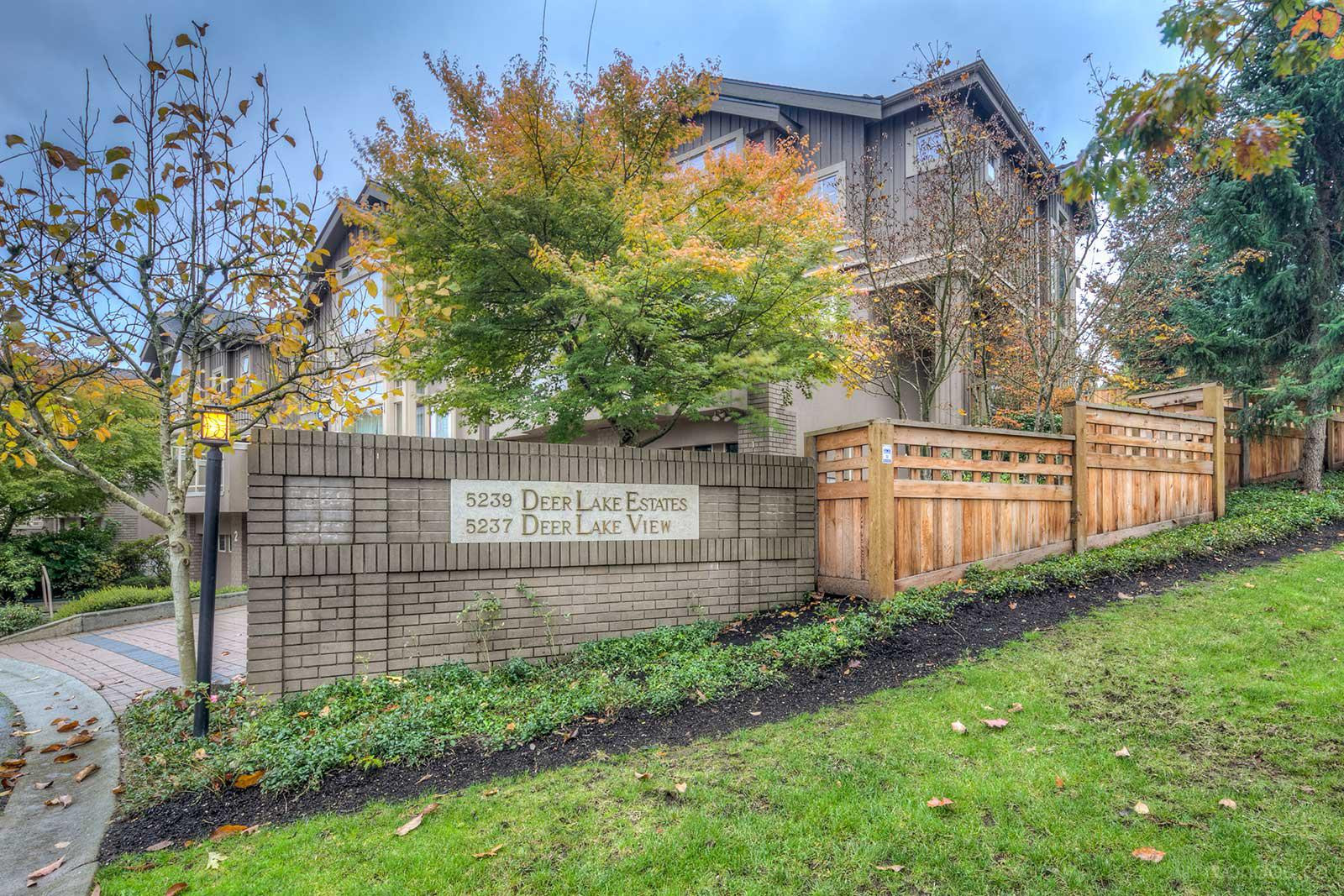 Deer Lake Estates at 5239 Oakmount Crescent, Burnaby 0