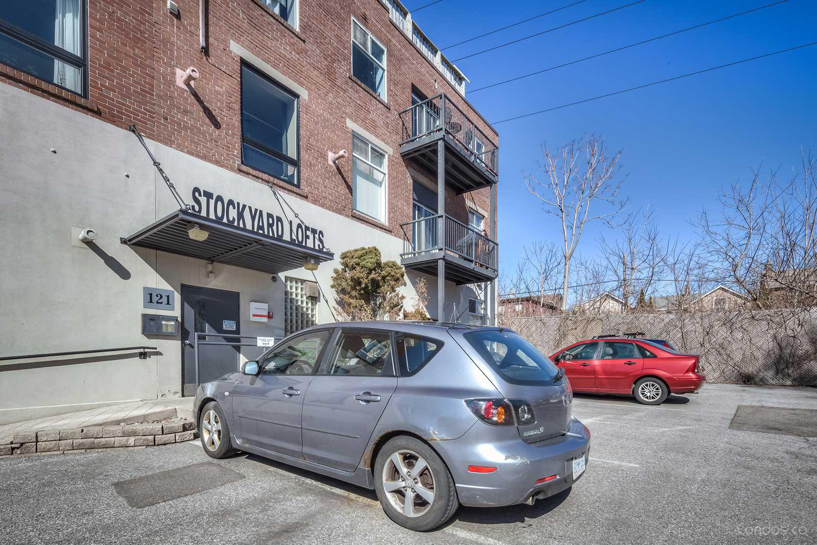 Stockyard Lofts at 121 Prescott Ave, Toronto 1