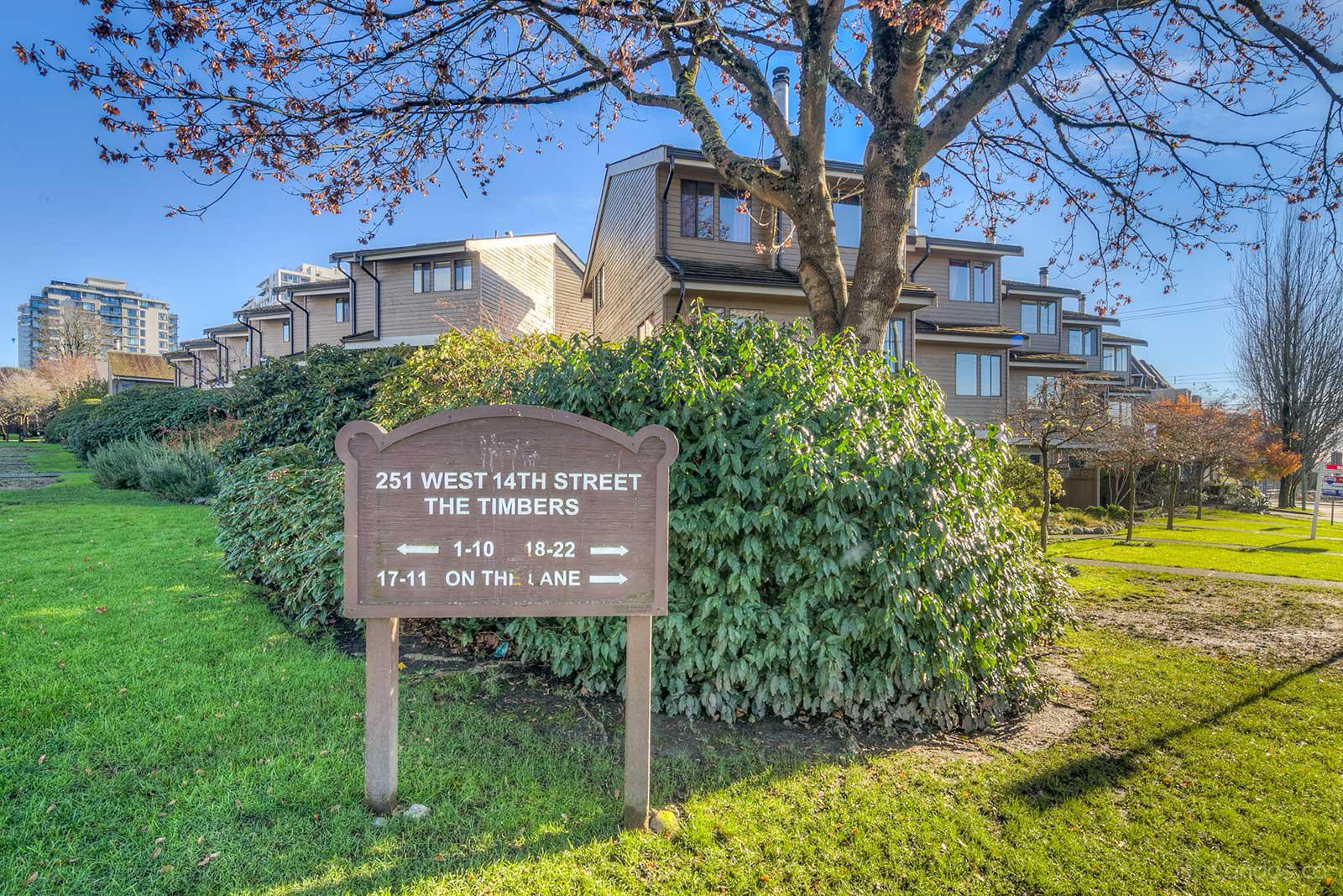 The Timbers at 251 W 14th St, North Vancouver City 0