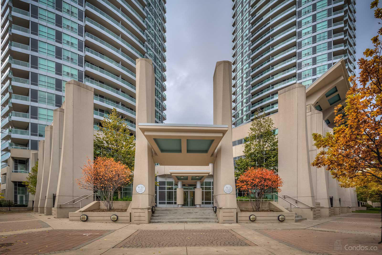 One City Centre at 1 Elm Dr W, Mississauga 1