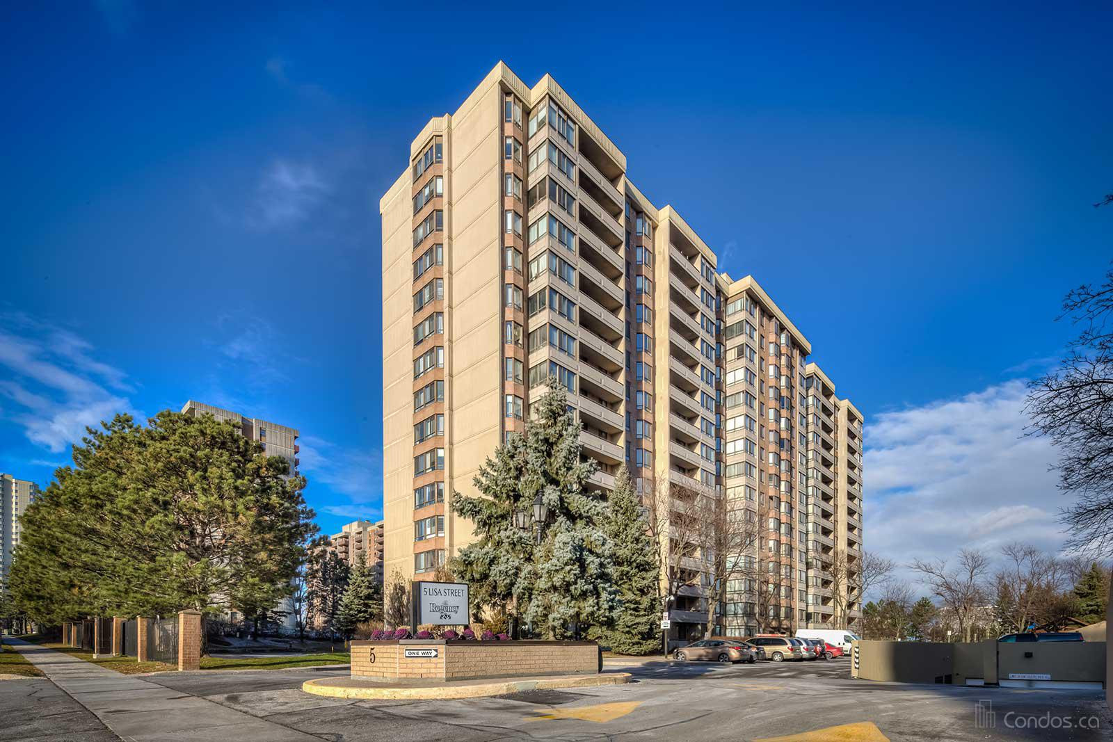The Regency Condos at 5 Lisa St, Brampton 0