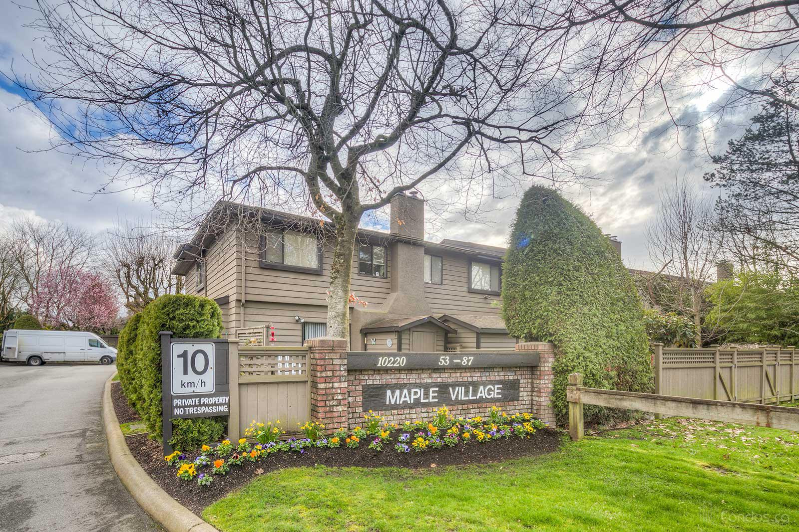 Maple Village at 10220 Dunoon Dr, Richmond 0