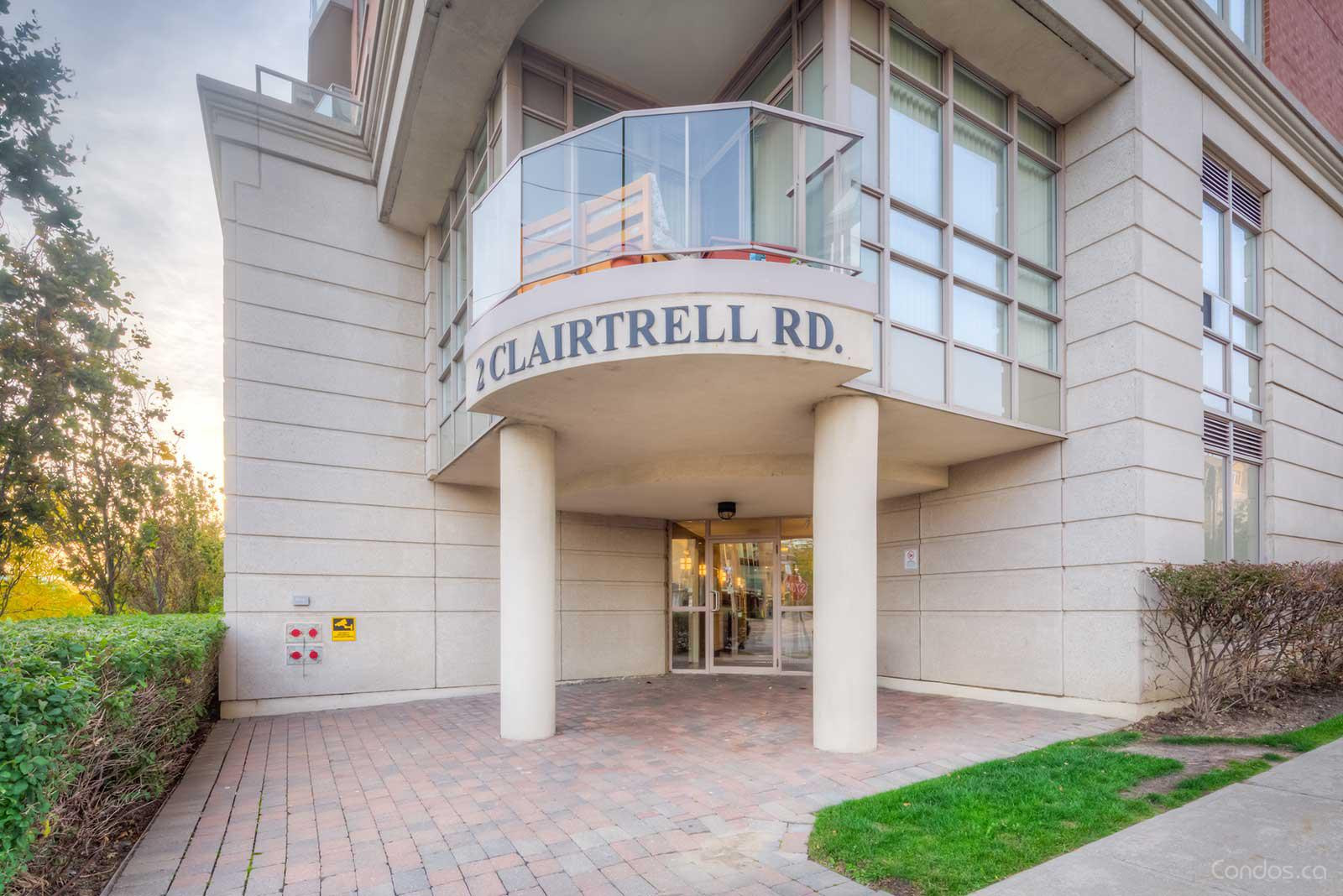 Bayview Mansions at 2 Clairtrell Rd, Toronto 1