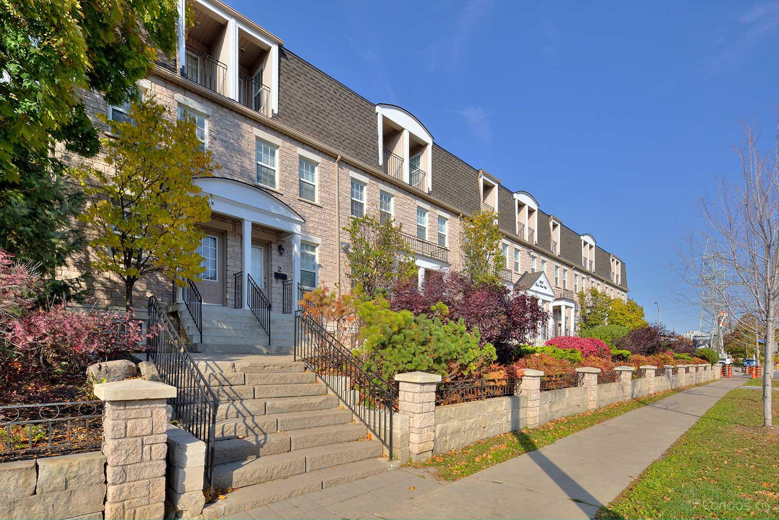 Berkley Townhomes at 3890 Bloor St W, Toronto 0