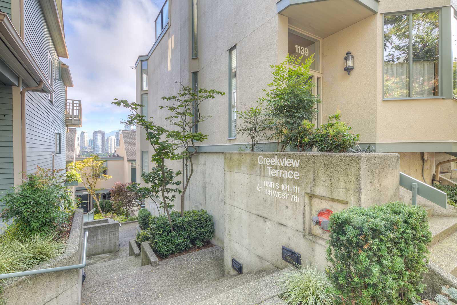 Creekview Terrace at 1141 W 7th Ave, Vancouver 0