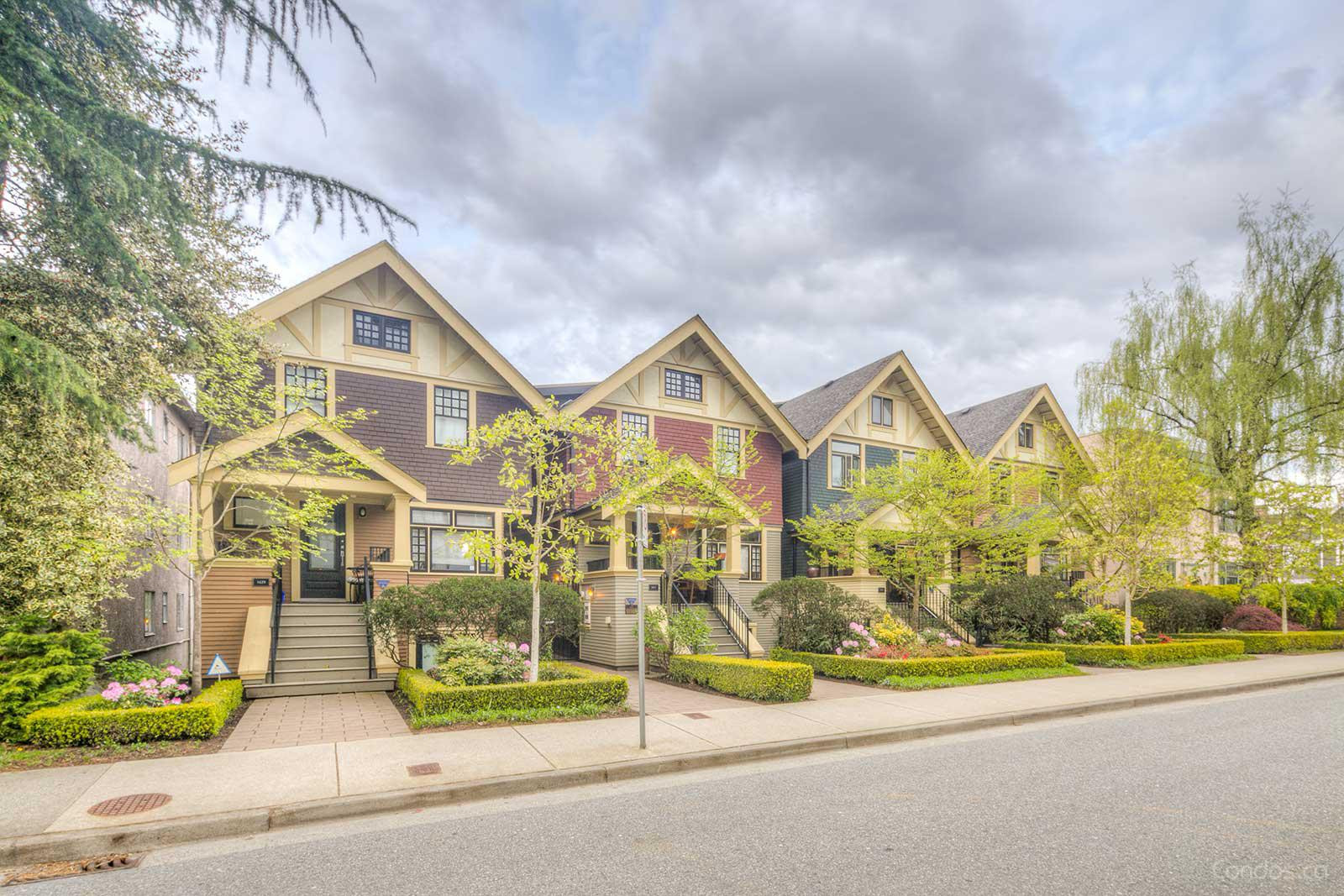 The Baker Houses at 1413 W 11th Ave, Vancouver 0