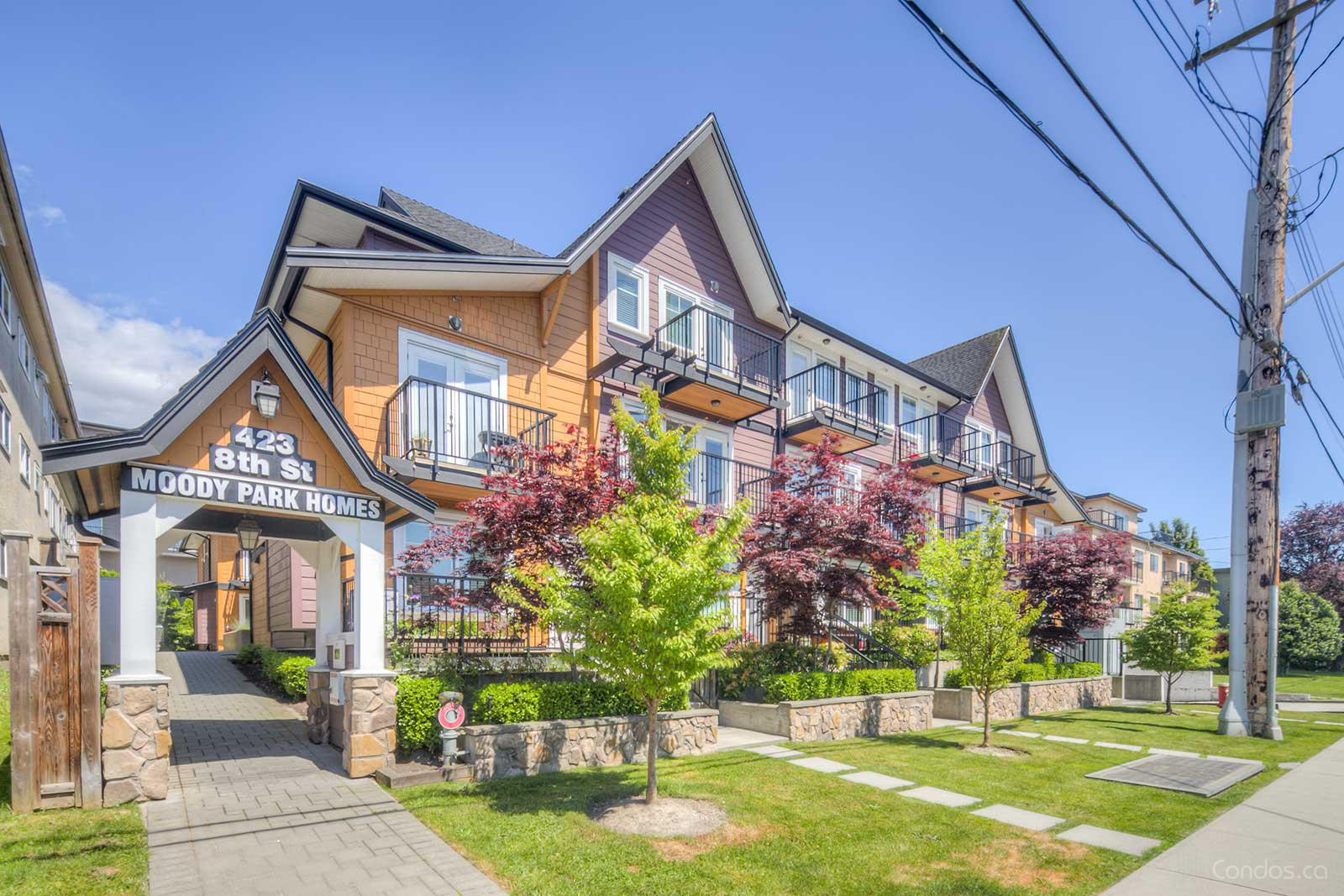 Moody Park Homes at 423 Eighth St, New Westminster 0