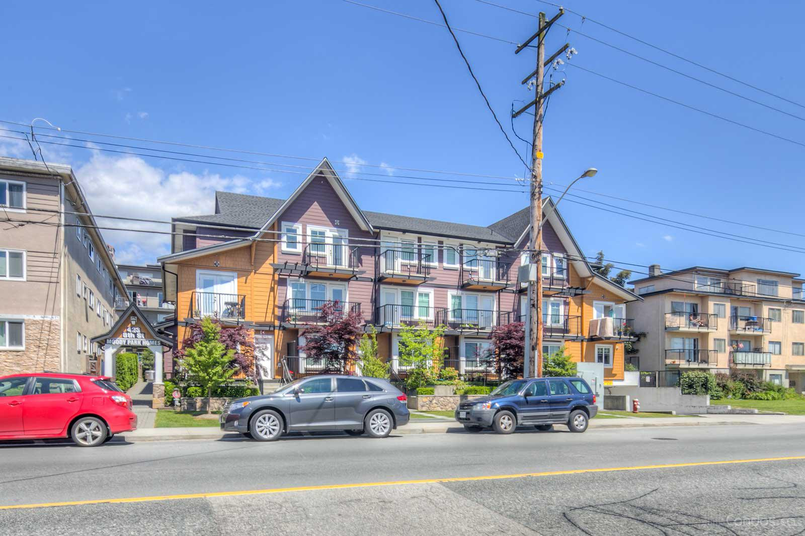 Moody Park Homes at 423 Eighth St, New Westminster 1